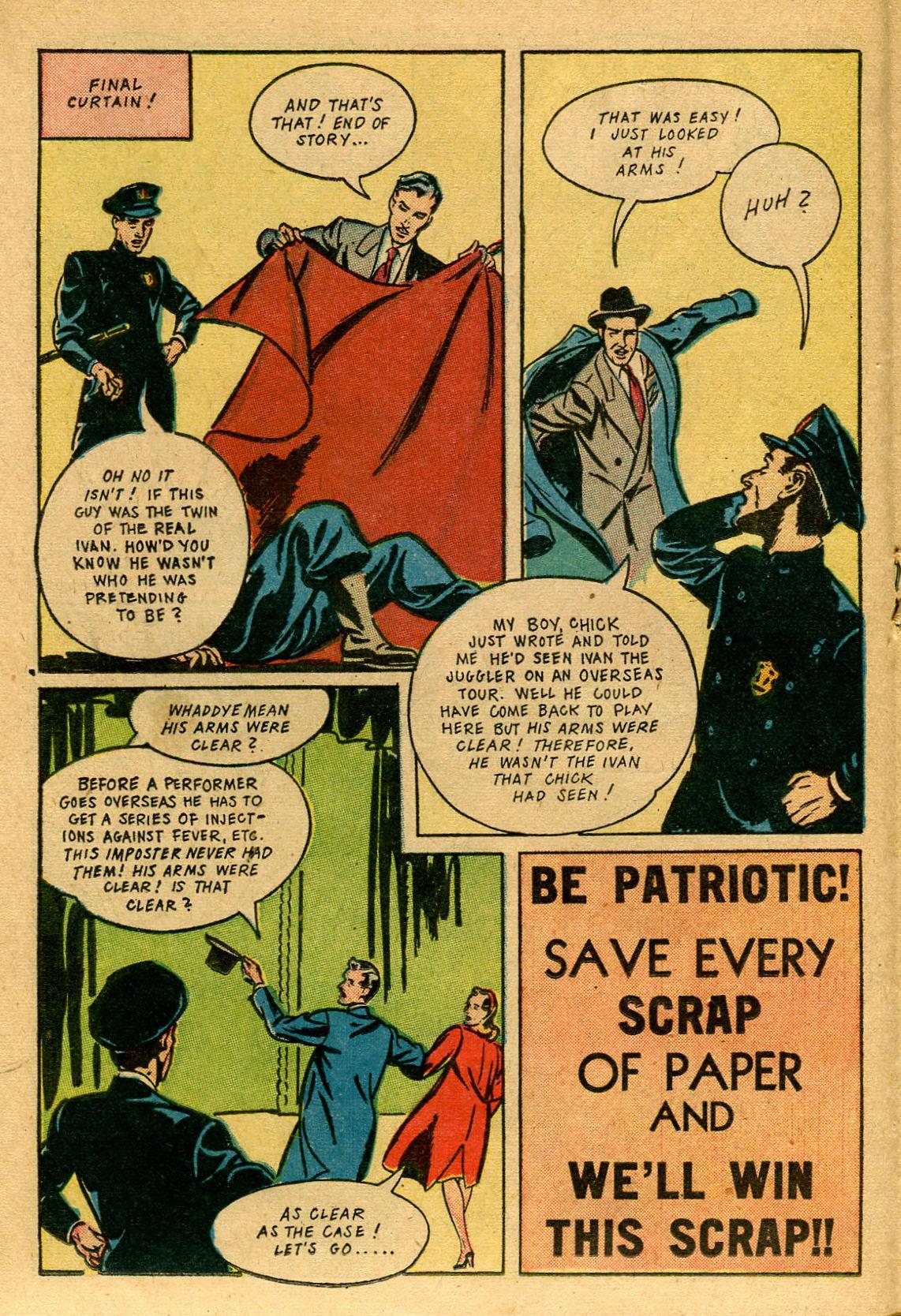 Read online Shadow Comics comic -  Issue #53 - 25