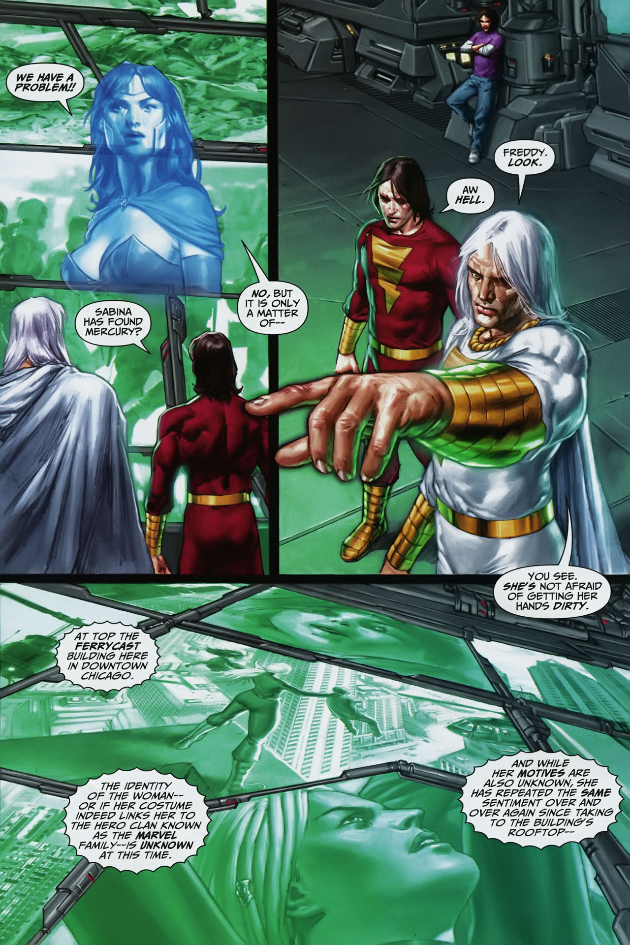 Read online Trials of Shazam comic -  Issue #11 - 11