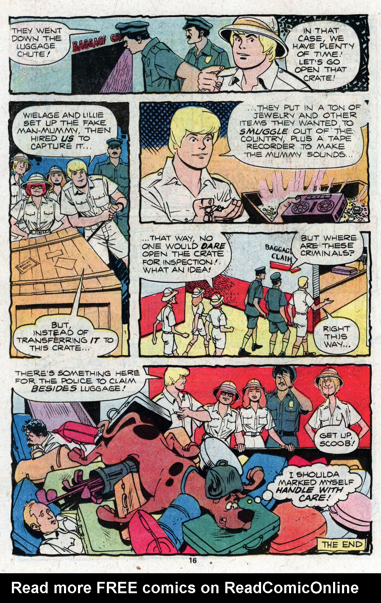 Read online Scooby-Doo (1977) comic -  Issue #4 - 18