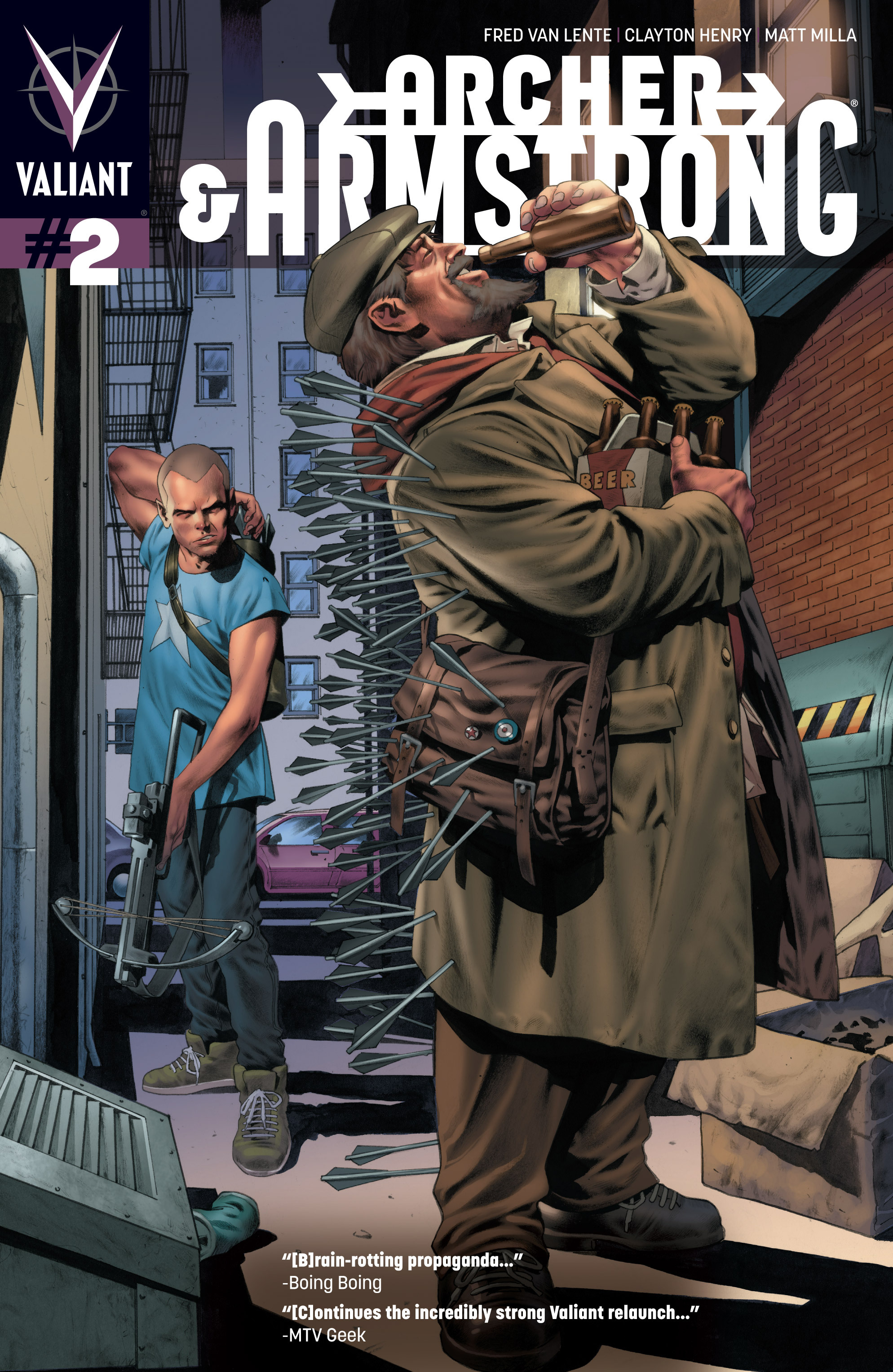 Read online Archer and Armstrong comic -  Issue #2 - 1