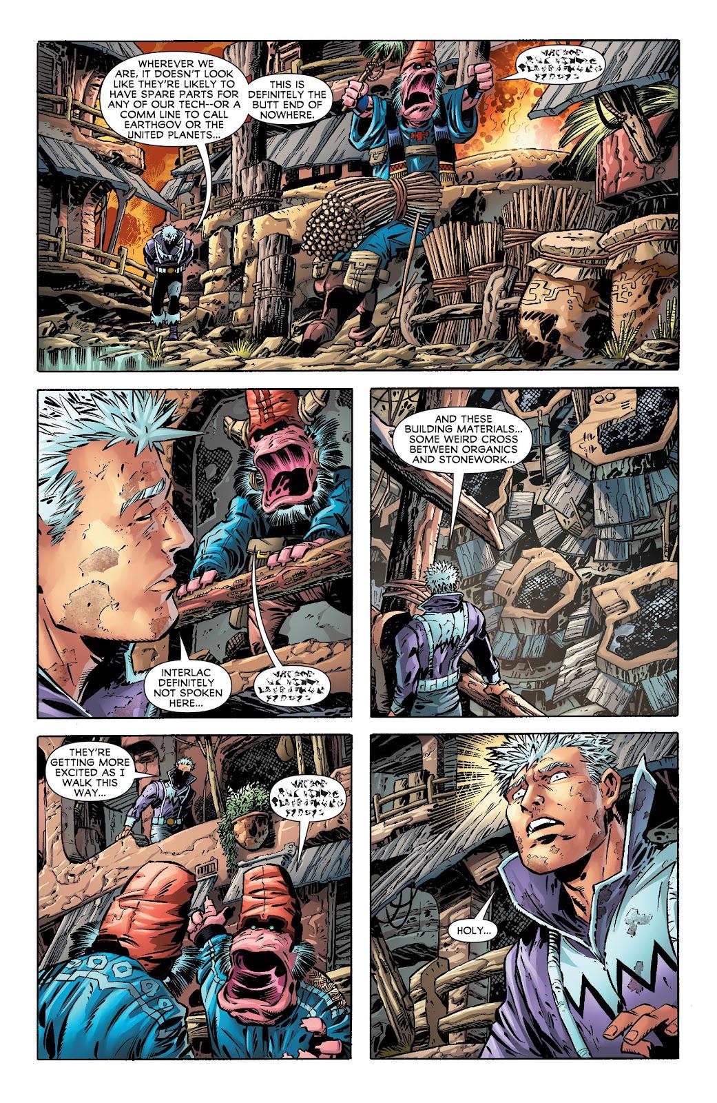 Legion of Super-Heroes (2011) Issue #17 #18 - English 10