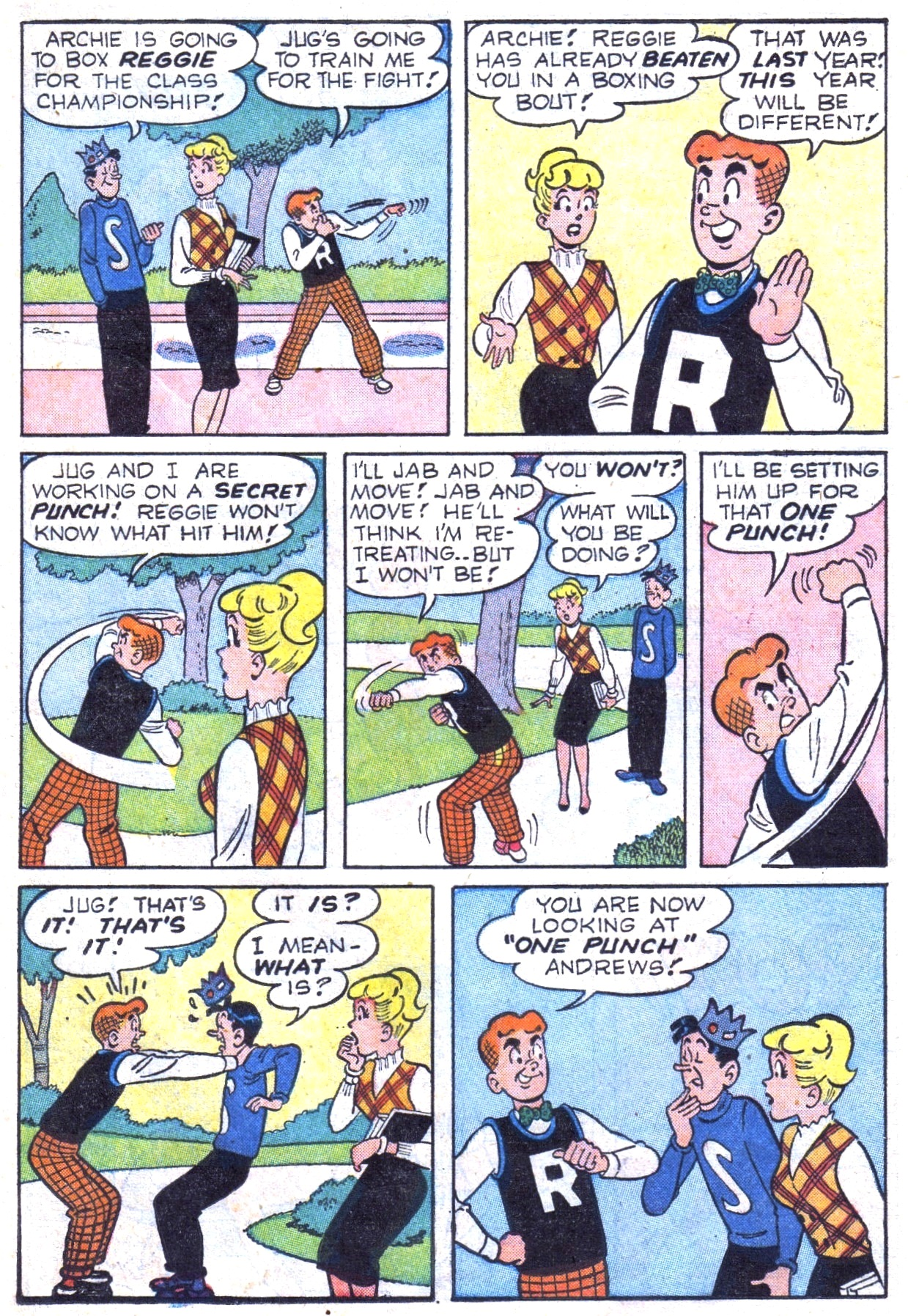 Read online Archie (1960) comic -  Issue #117 - 23