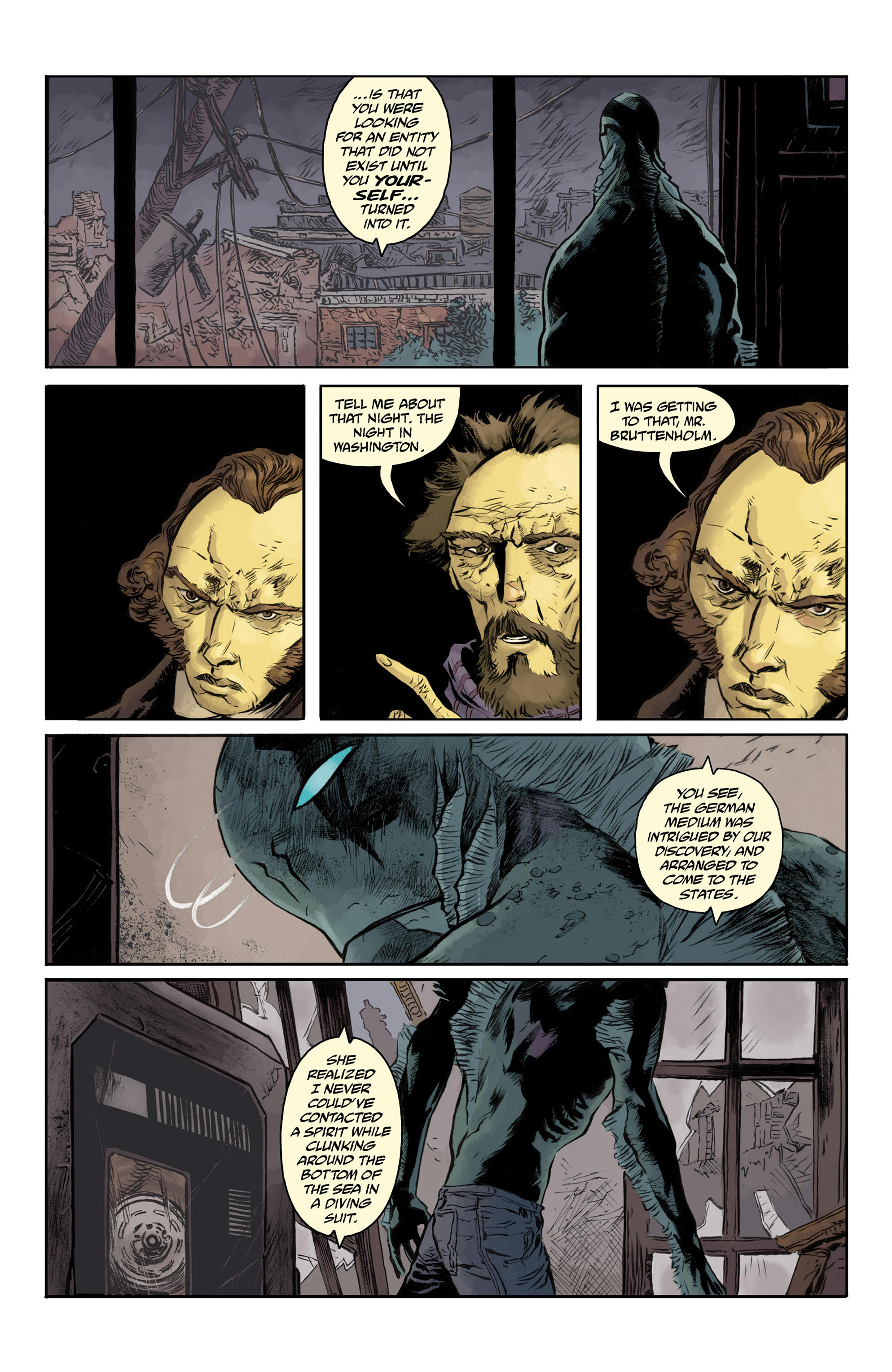 Read online Abe Sapien comic -  Issue #33 - 12