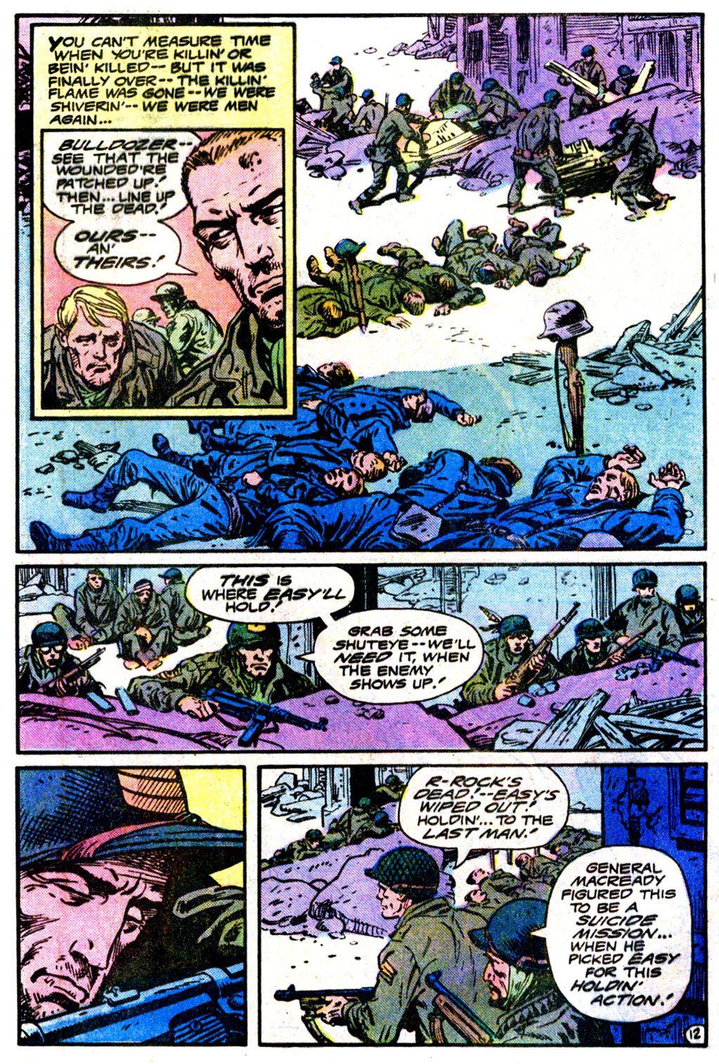 Sgt. Rock issue 360 - Page 12