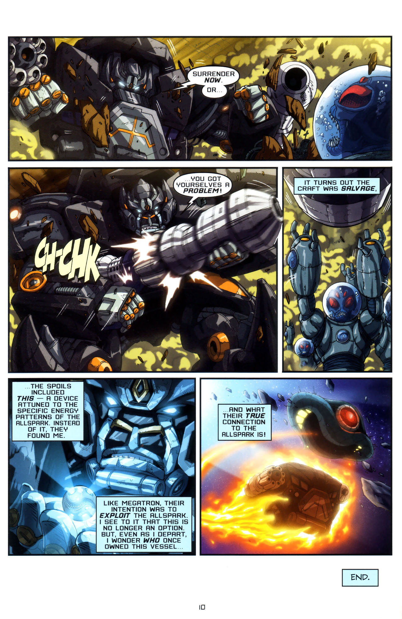 Read online Transformers: Saga of the Allspark comic -  Issue #3 - 13