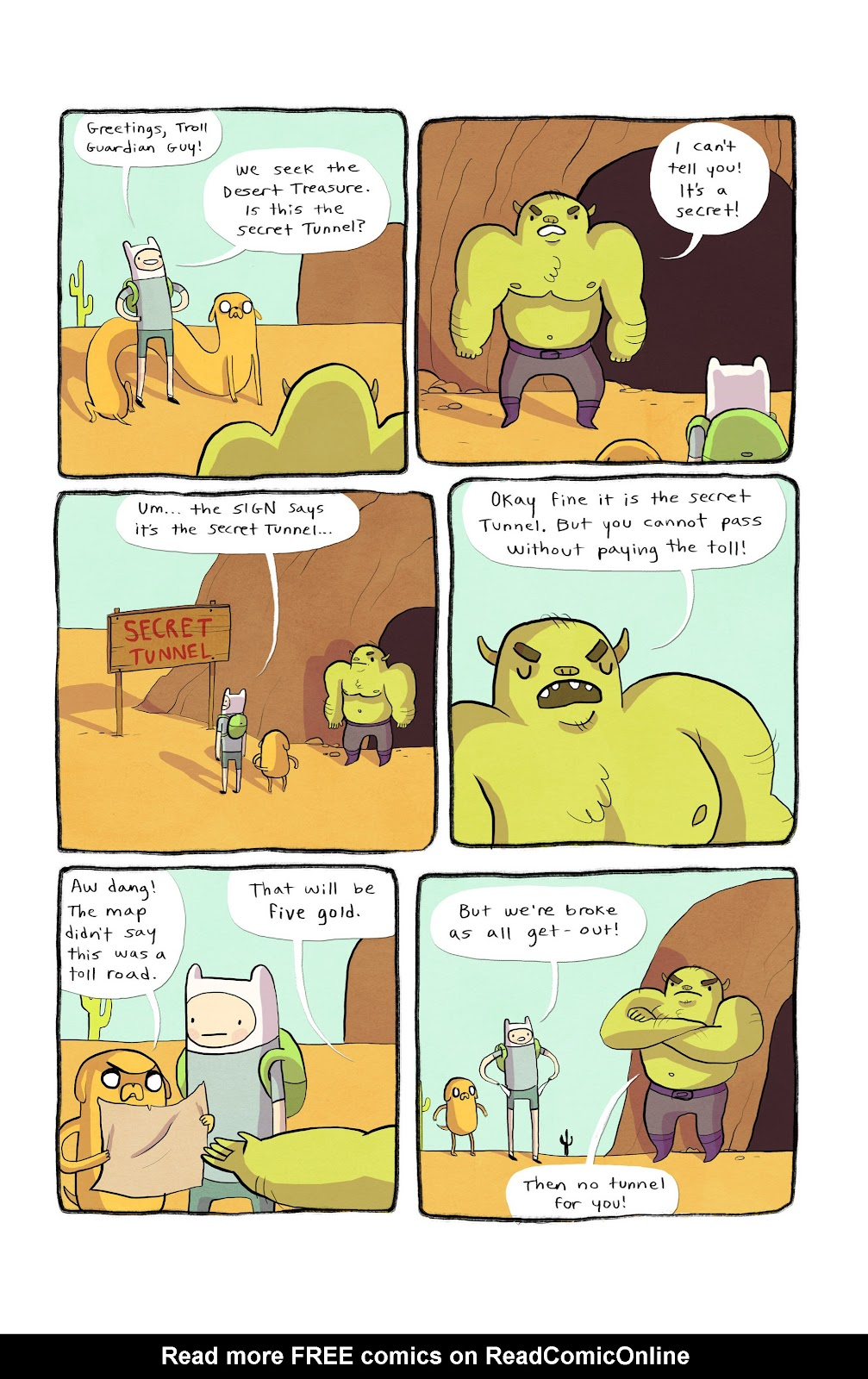 Adventure Time 2013 Summer Special issue Full - Page 7