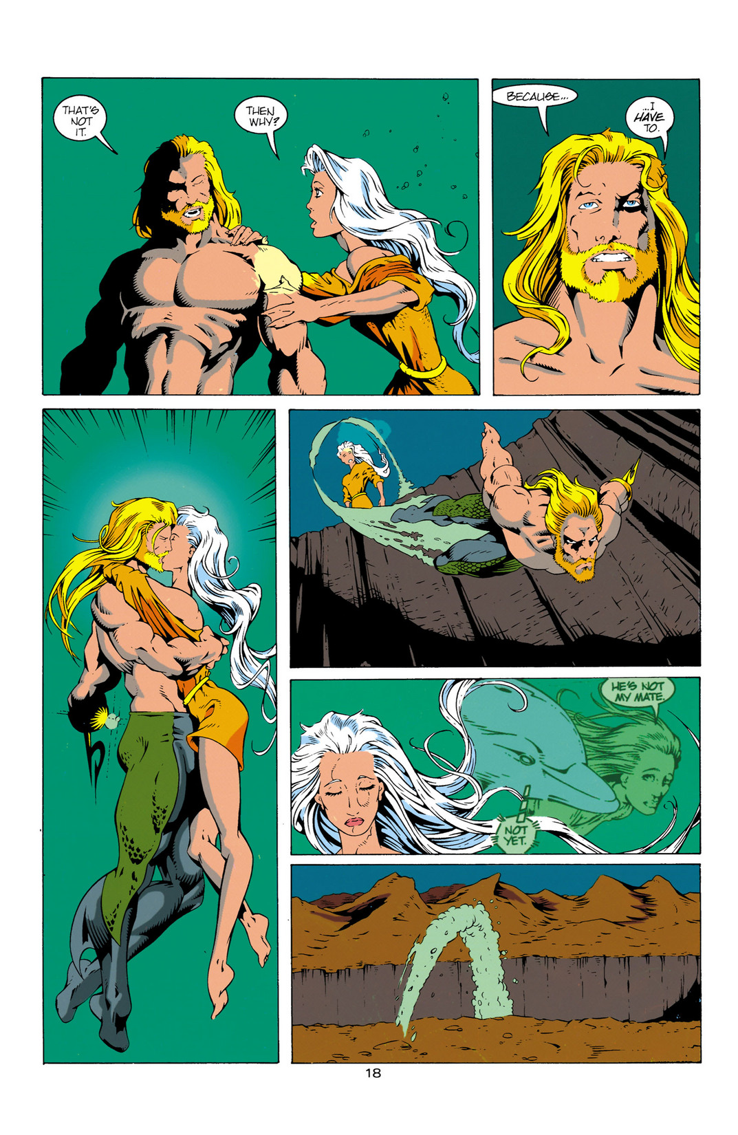 Read online Aquaman (1994) comic -  Issue #12 - 19