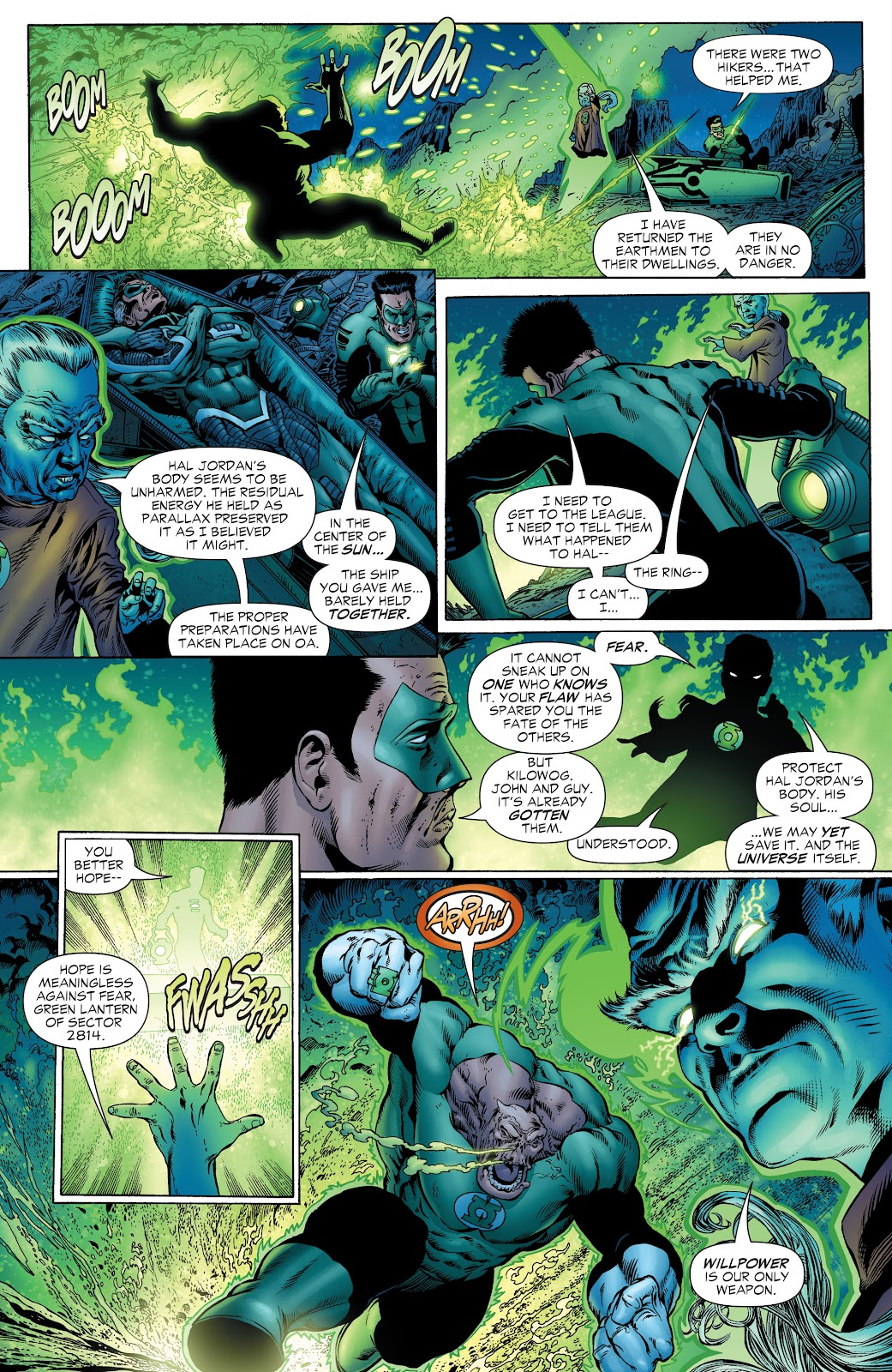 Read online Green Lantern by Geoff Johns comic -  Issue # TPB 1 (Part 1) - 75