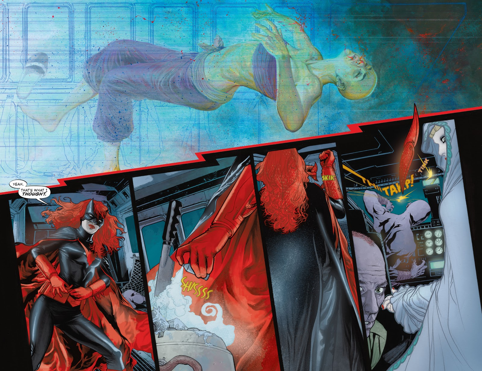 Read online Detective Comics (1937) comic -  Issue # _TPB Batwoman – Elegy (New Edition) (Part 1) - 75