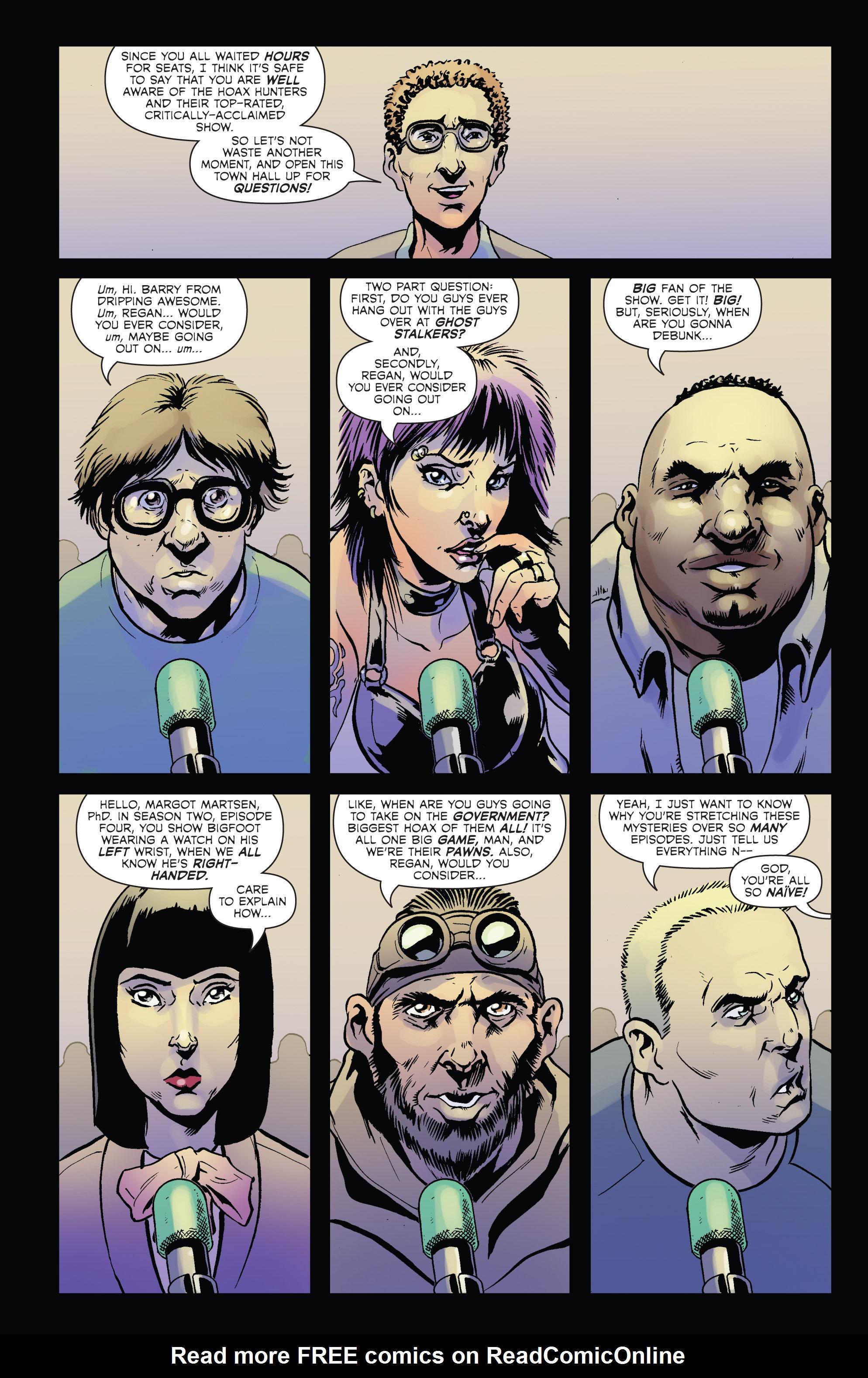 Read online Hoax Hunters (2012) comic -  Issue # TPB 2 - 13