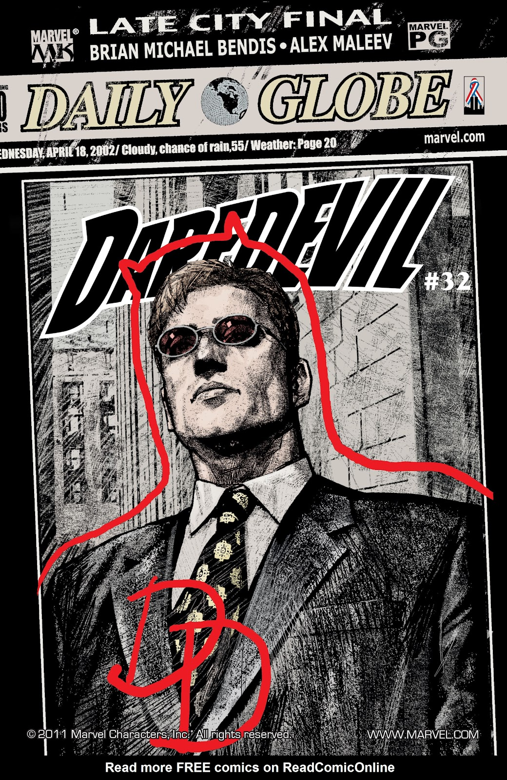 Read online Daredevil (1998) comic -  Issue # _Ultimate_Collection TPB 1 (Part 3) - 14