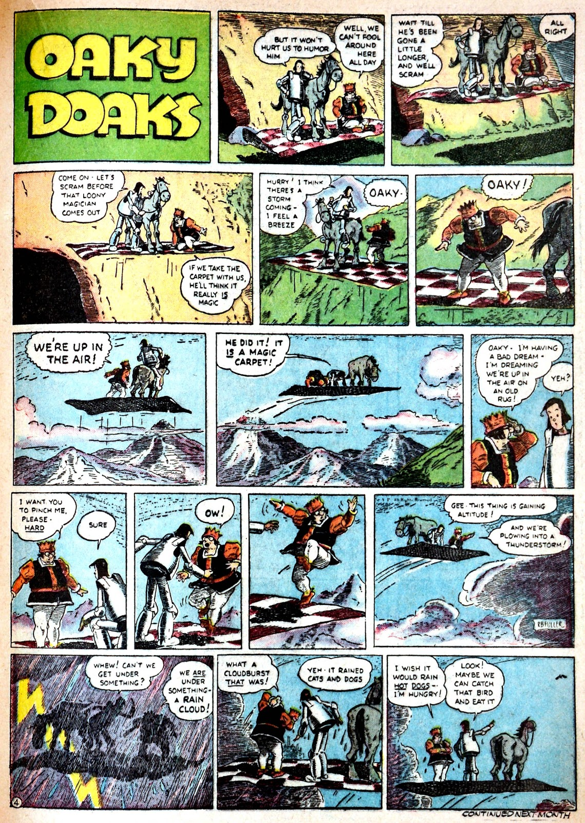 Read online Famous Funnies comic -  Issue #68 - 40