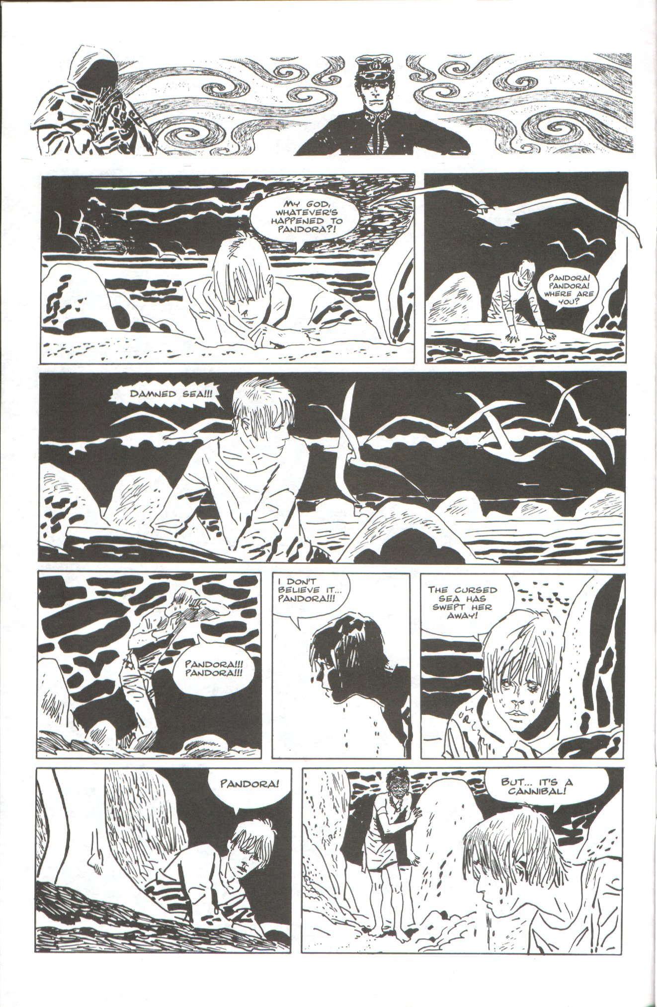 Read online Corto Maltese: Ballad of the Salt Sea comic -  Issue #2 - 4