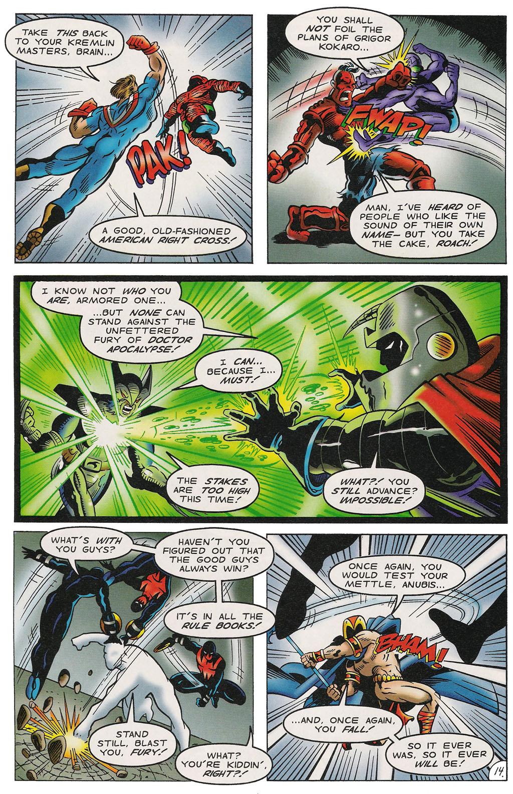Read online ShadowHawk comic -  Issue #14 - 15