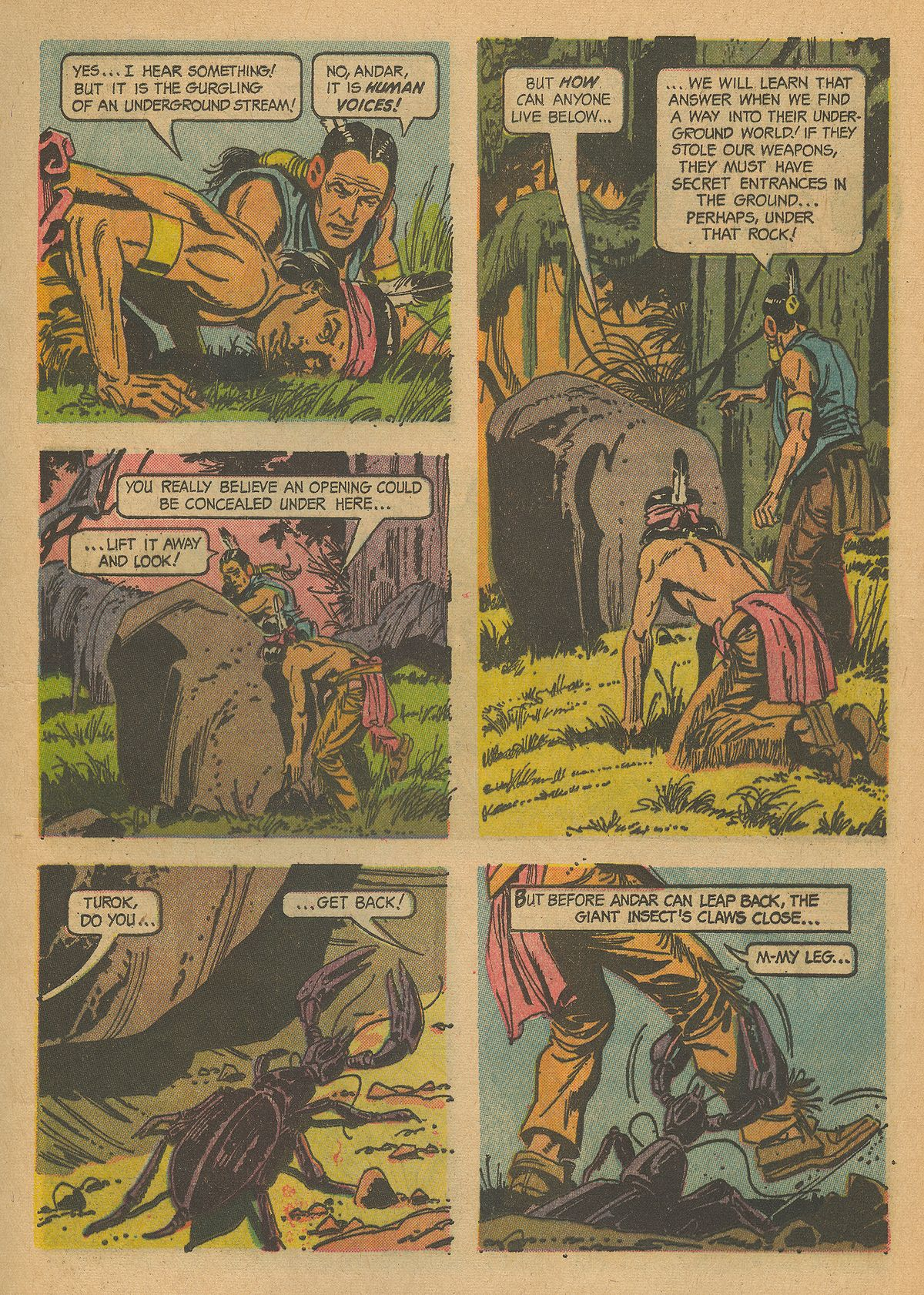 Read online Turok, Son of Stone comic -  Issue #43 - 13