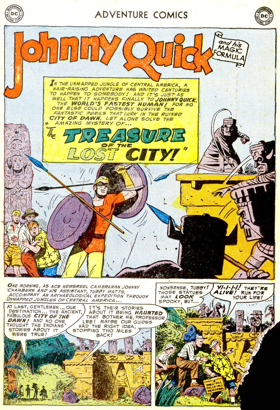 Read online Adventure Comics (1938) comic -  Issue #194 - 25