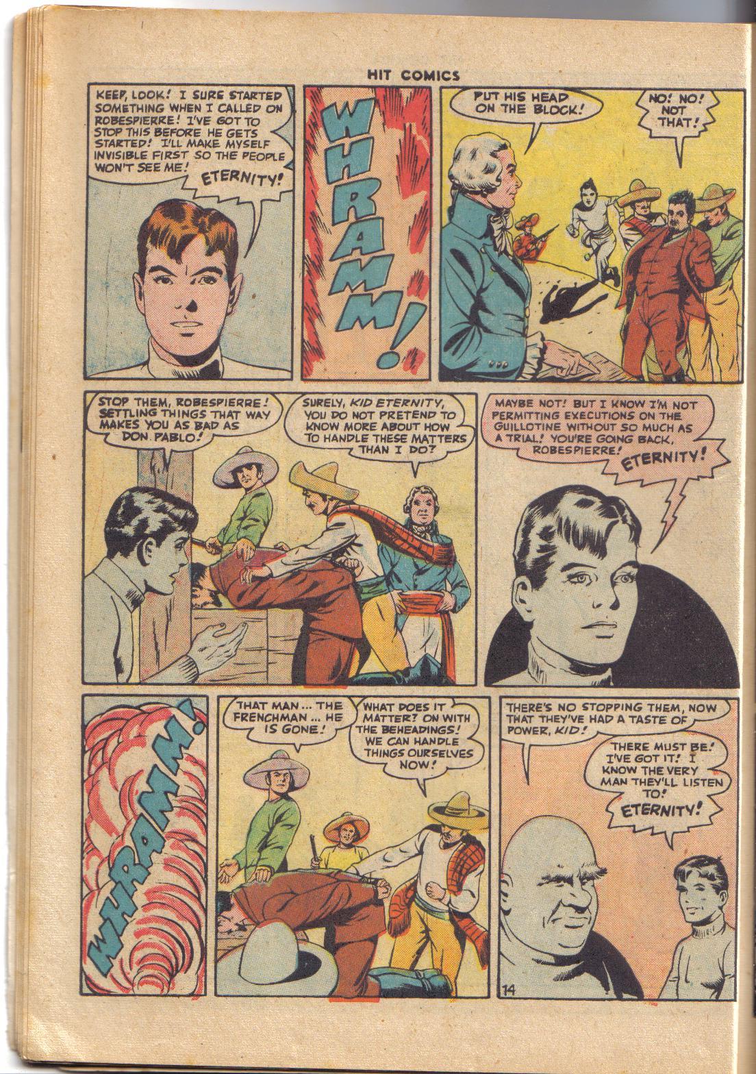 Read online Hit Comics comic -  Issue #45 - 16