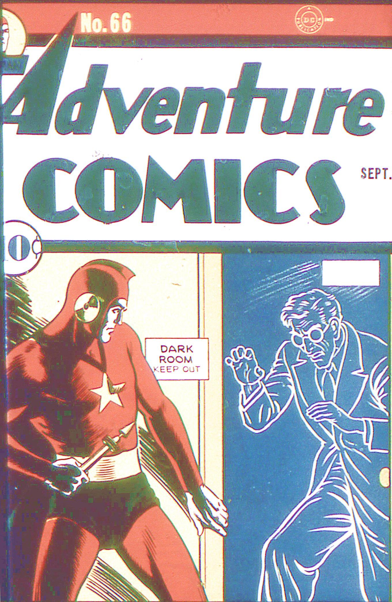 Read online Adventure Comics (1938) comic -  Issue #66 - 1