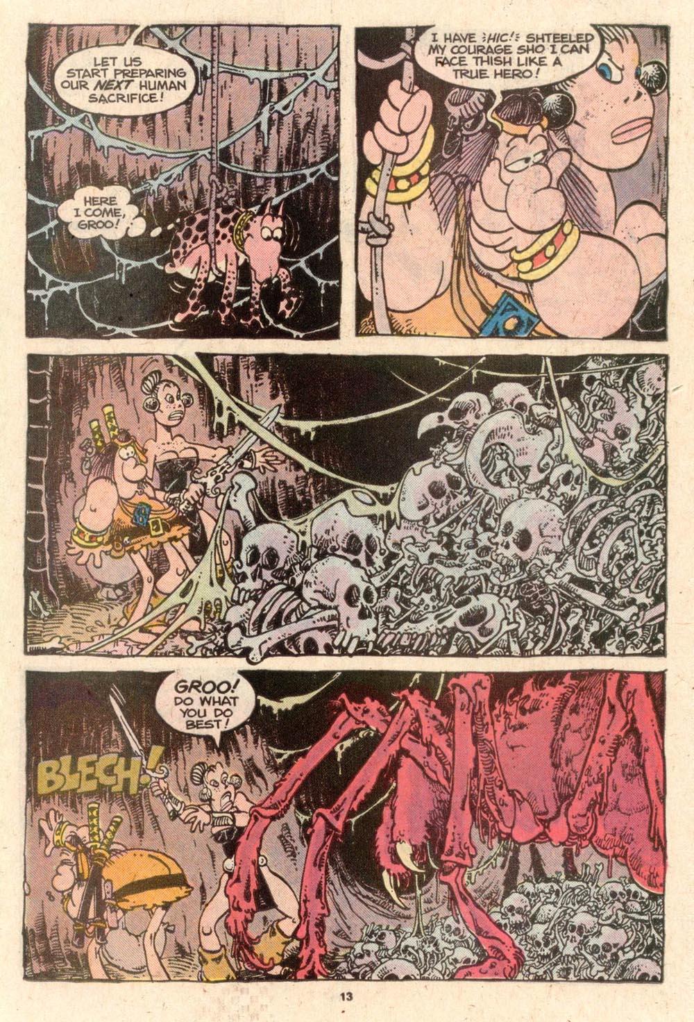 Read online Sergio Aragonés Groo the Wanderer comic -  Issue #52 - 13
