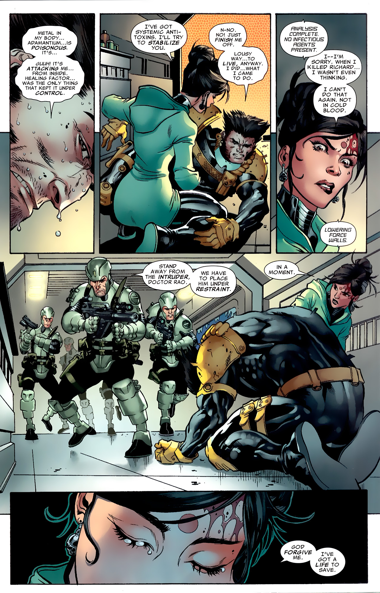 Read online Age of X: Alpha comic -  Issue #Age of X: Alpha Full - 32