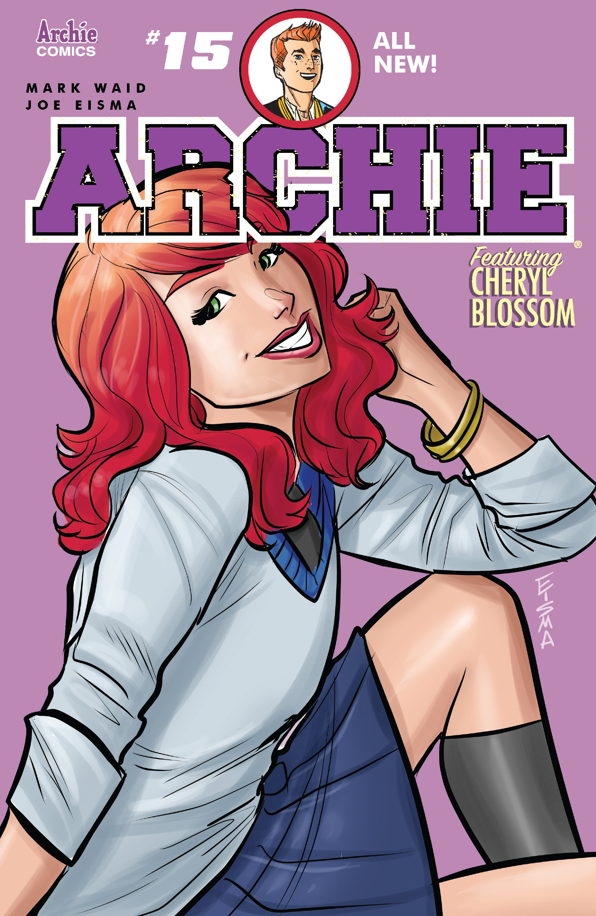 Read online Archie (2015) comic -  Issue #15 - 1
