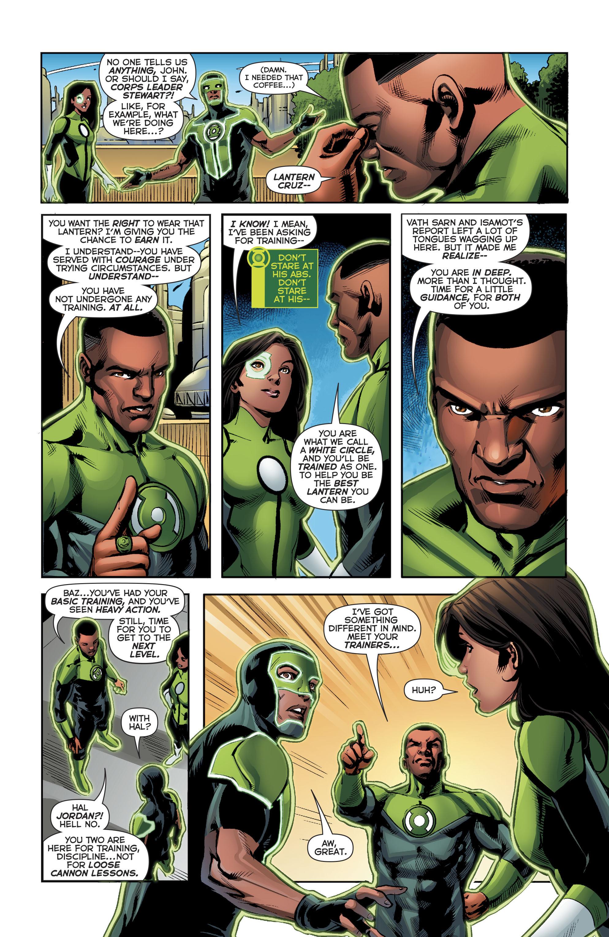 Read online Green Lanterns comic -  Issue #22 - 21
