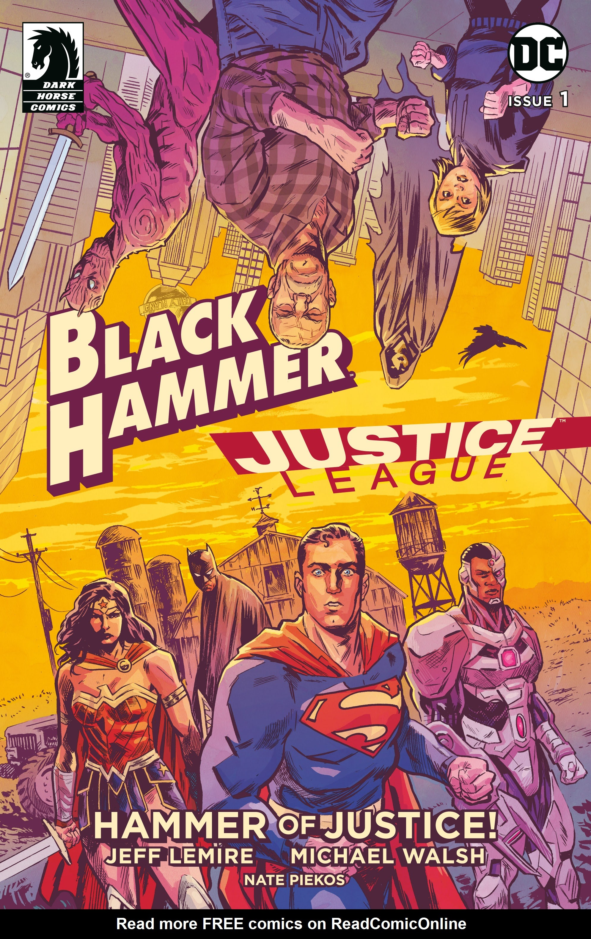 Black Hammer/Justice League: Hammer of Justice! 1 Page 1