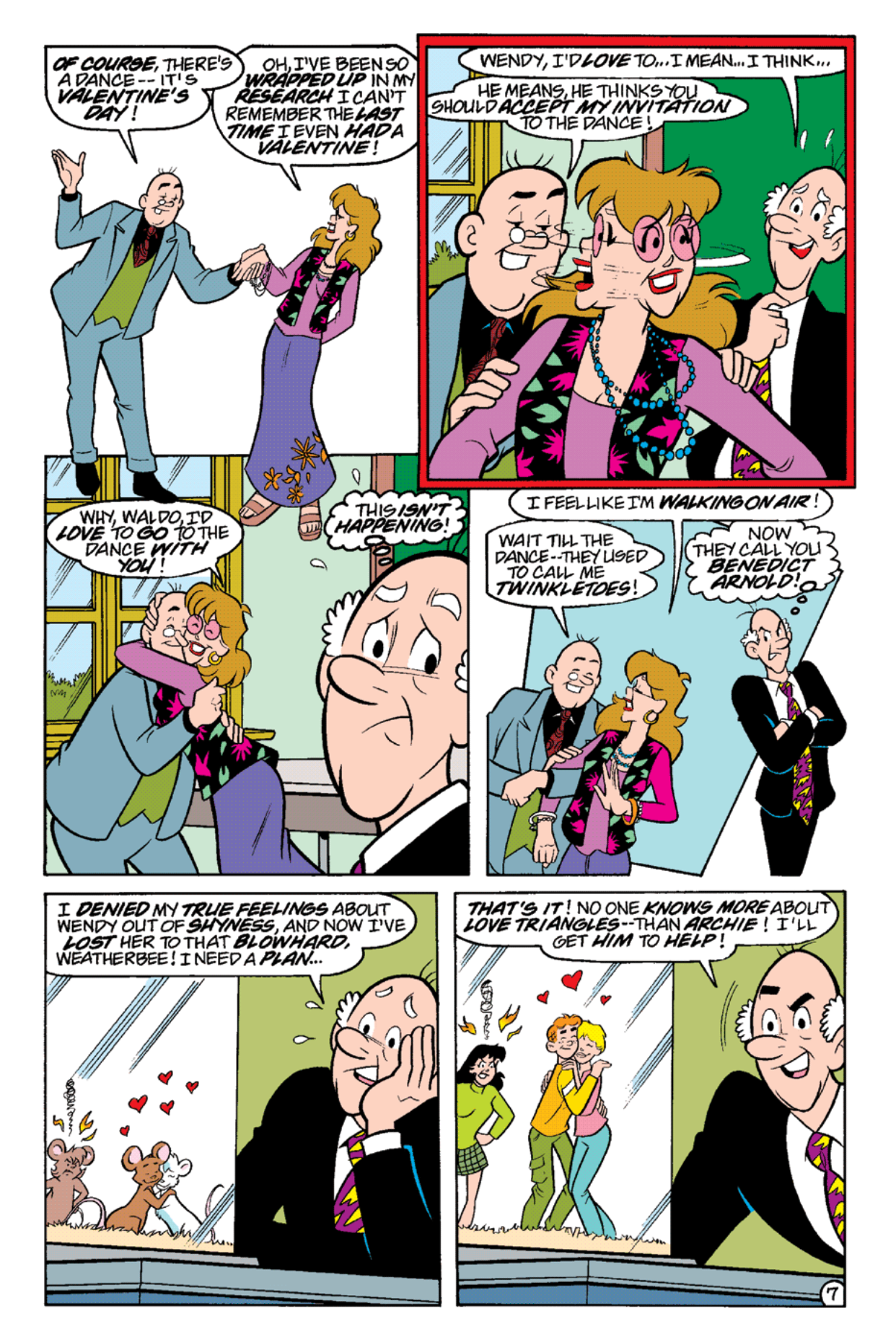 Read online Archie's Weird Mysteries comic -  Issue #19 - 9