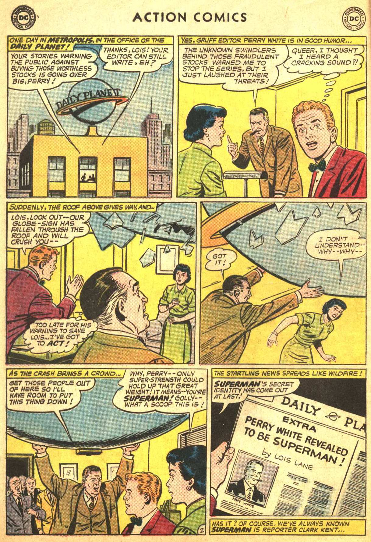 Read online Action Comics (1938) comic -  Issue #302 - 3