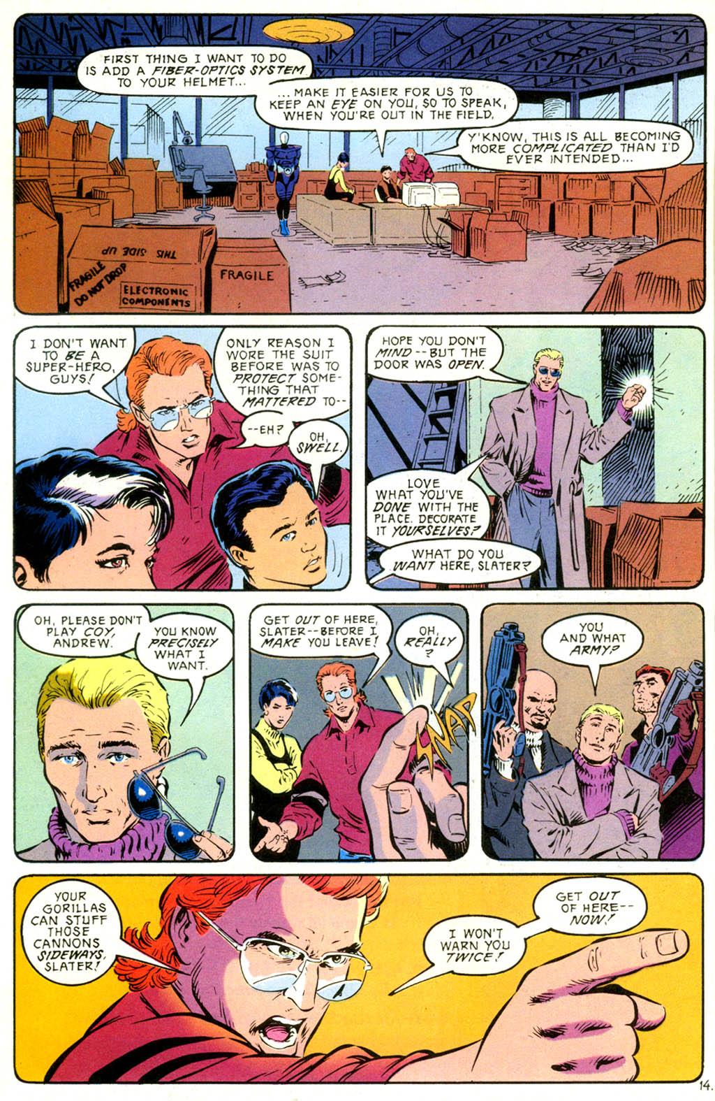 Read online Gunfire comic -  Issue #1 - 20