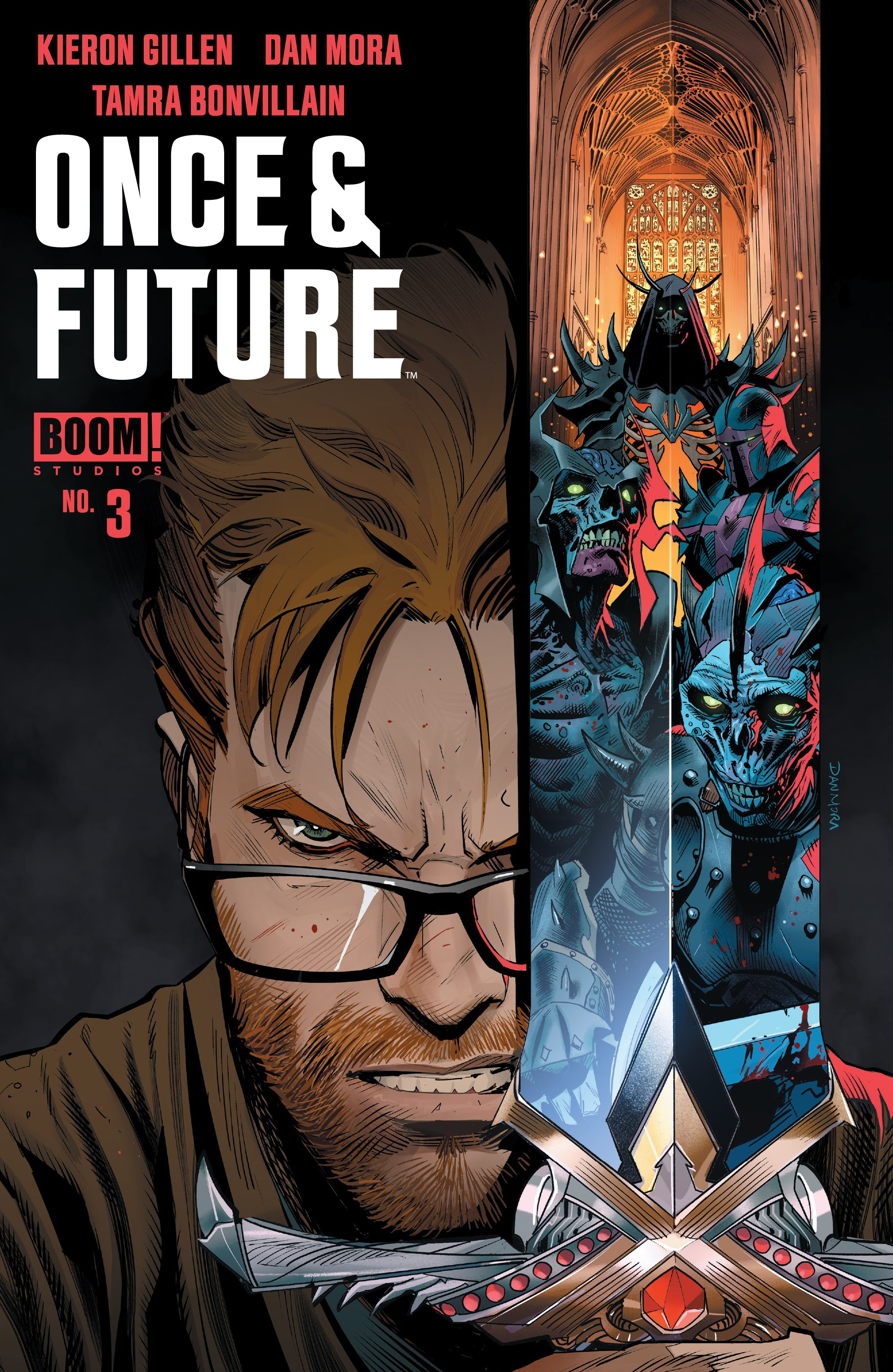 Once & Future 3 Page 1