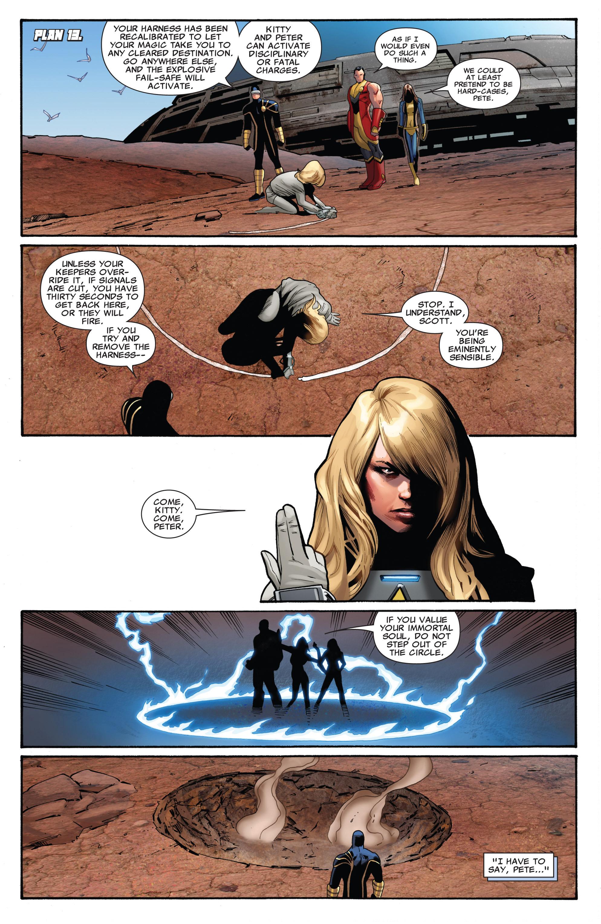 Read online Uncanny X-Men (1963) comic -  Issue #542 - 11