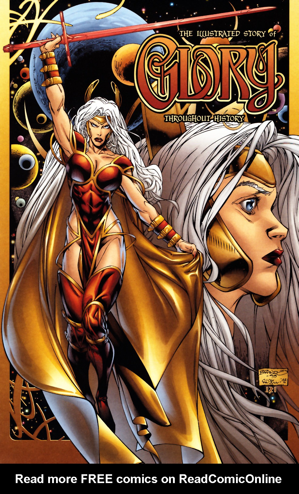 Read online Alan Moore's Glory comic -  Issue #0 - 10