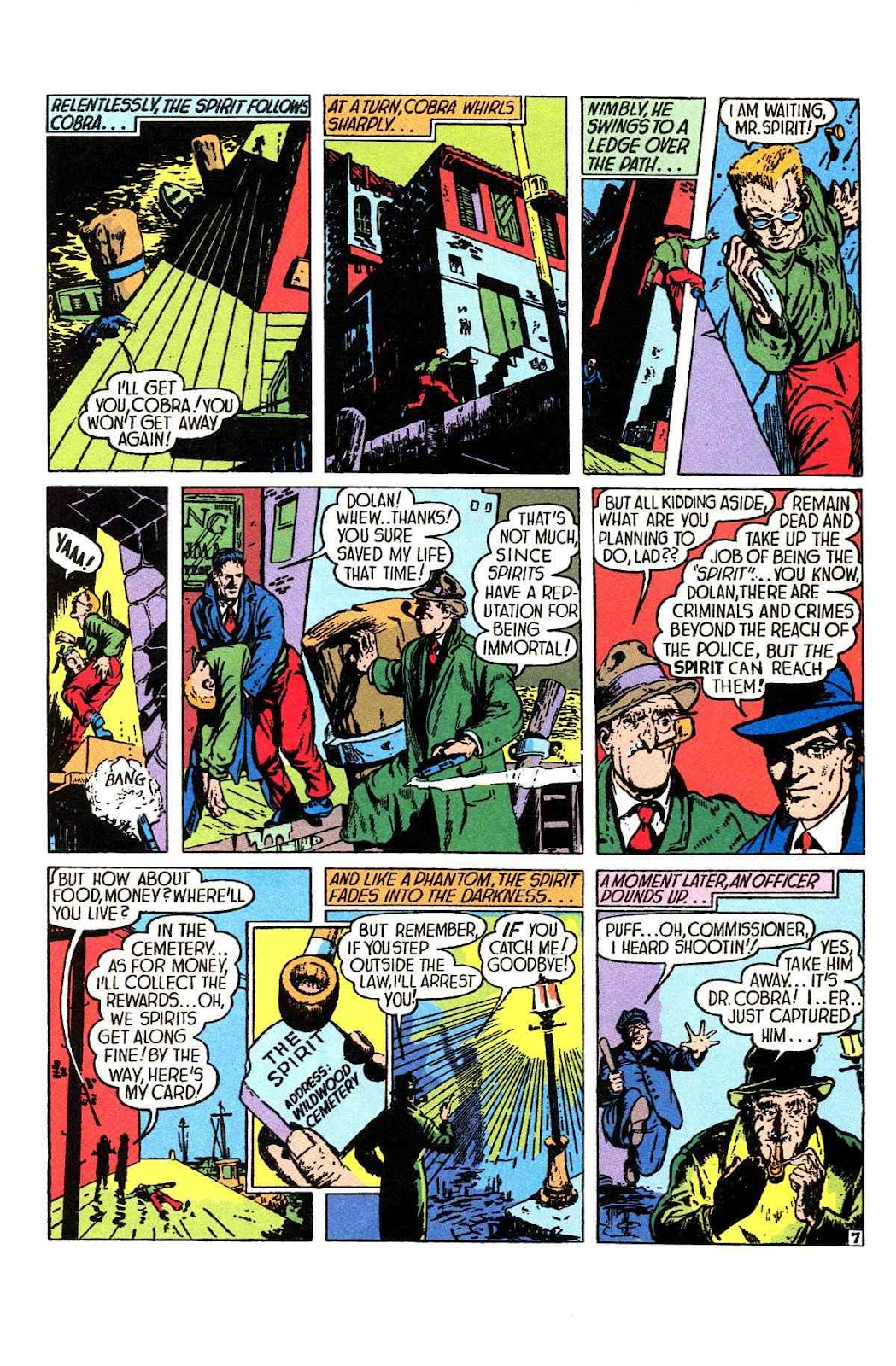 Read online Will Eisner's The Spirit Archives comic -  Issue # TPB 1 (Part 1) - 8