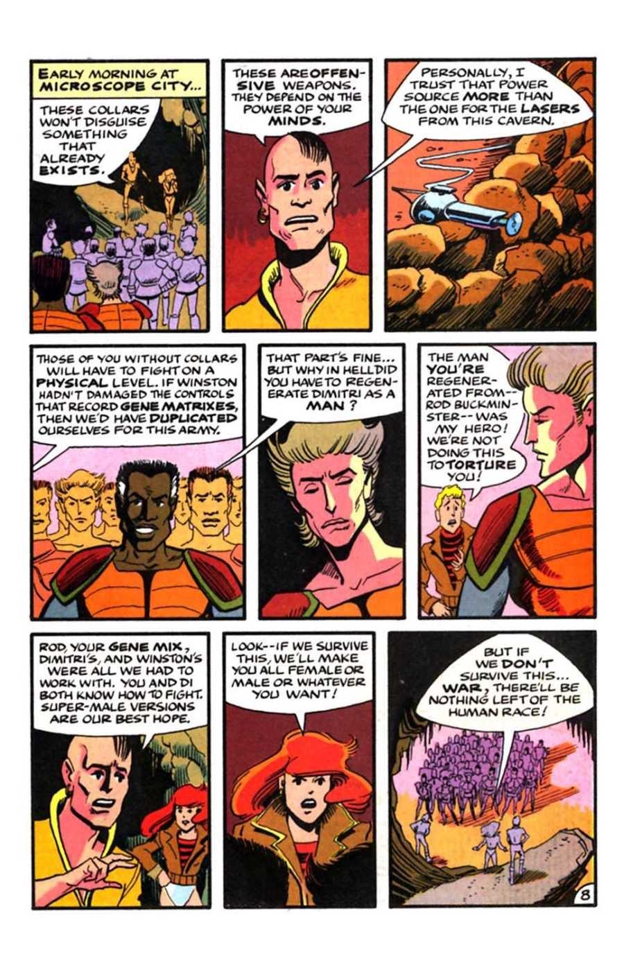 Read online Mars comic -  Issue #9 - 10