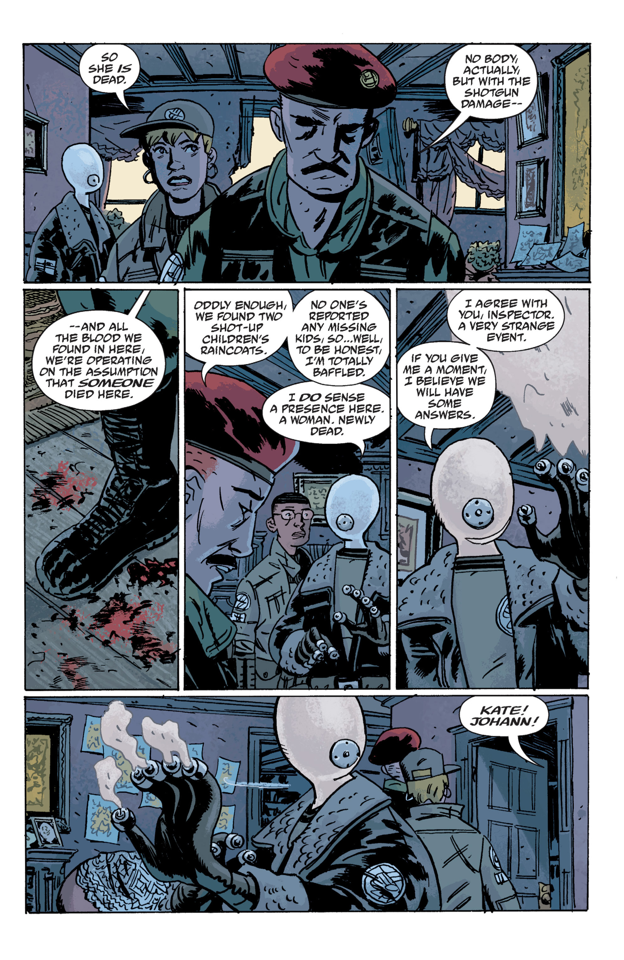 Read online B.P.R.D. (2003) comic -  Issue # TPB 10 - 73