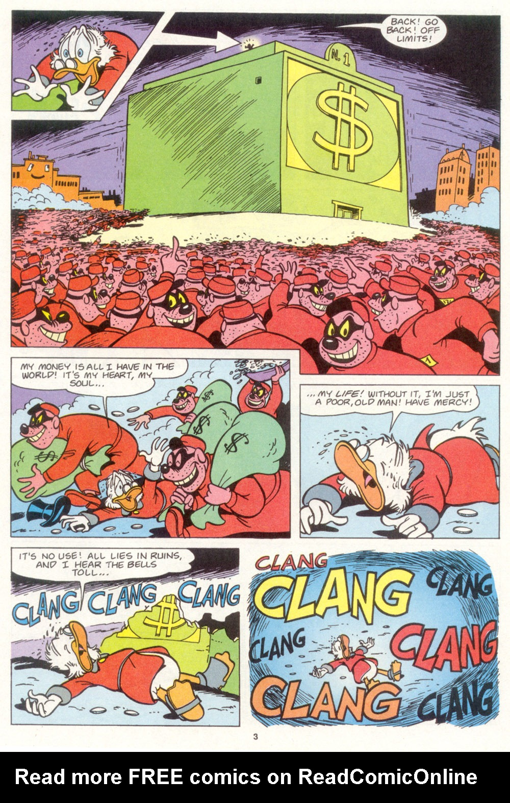 Read online Uncle Scrooge (1953) comic -  Issue #266 - 4