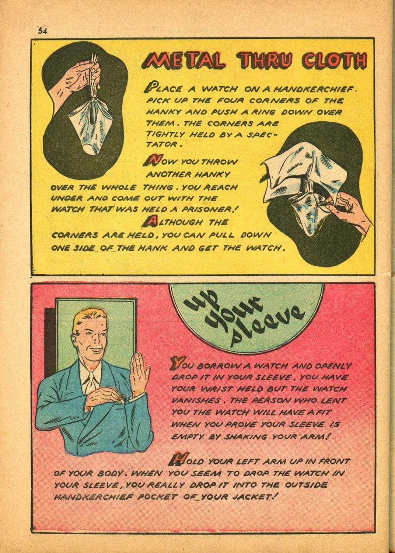 Read online Super-Magician Comics comic -  Issue #9 - 53