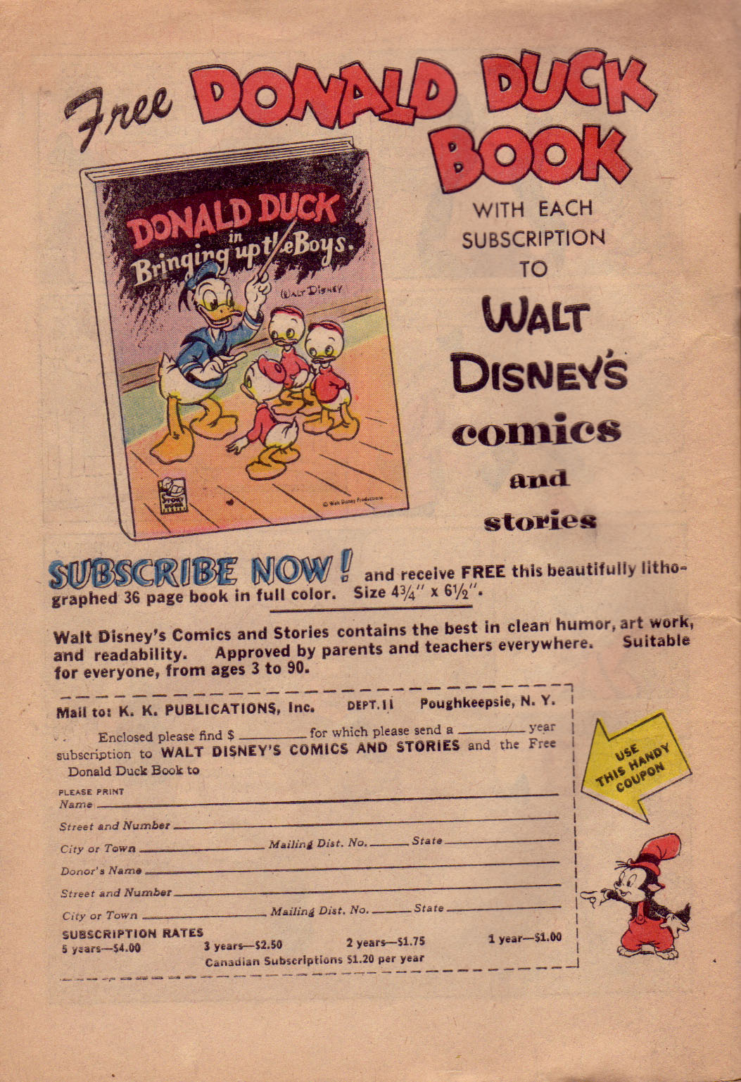 Walt Disney's Comics and Stories issue 242 - Page 34