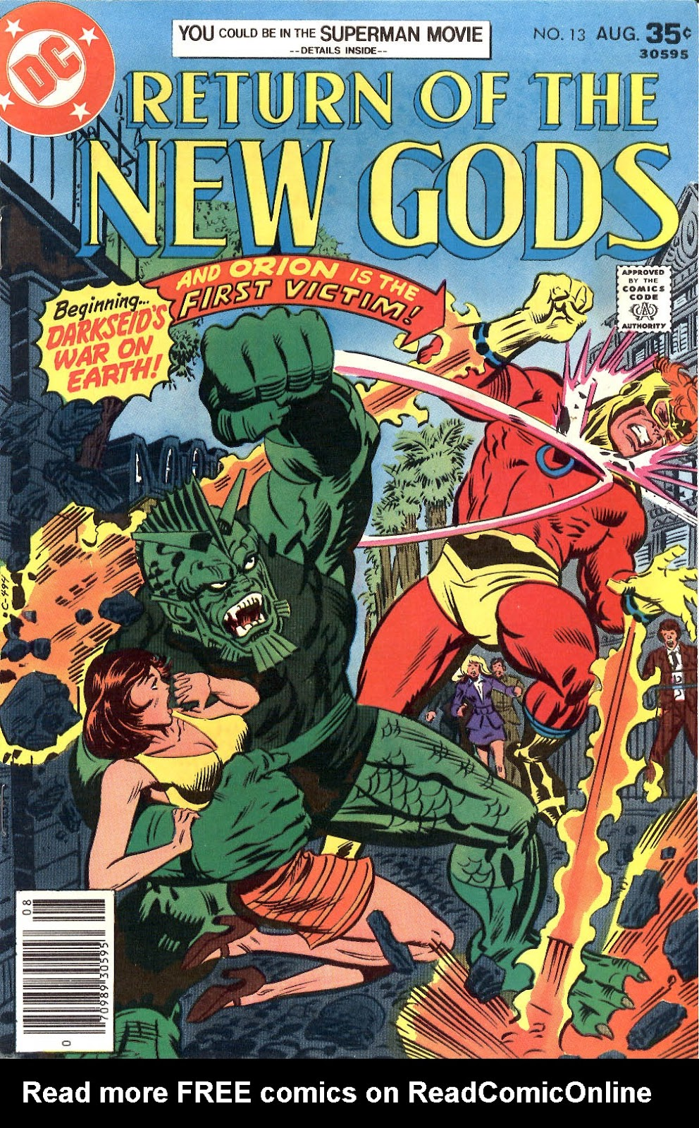 New Gods (1977) issue 13 - Page 1