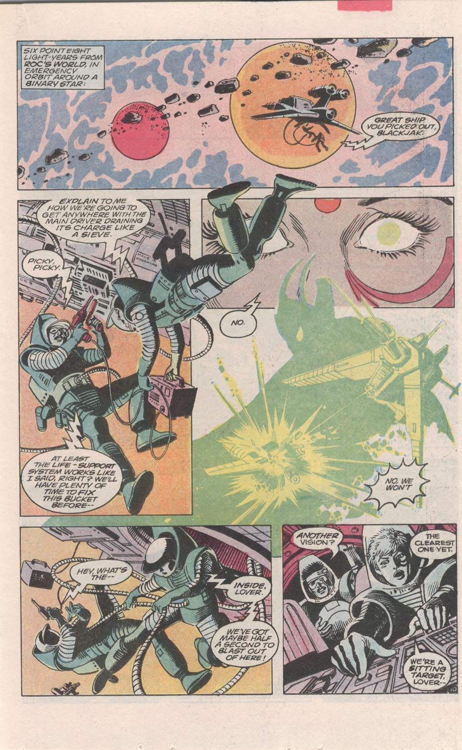 Read online Atari Force (1984) comic -  Issue #3 - 11