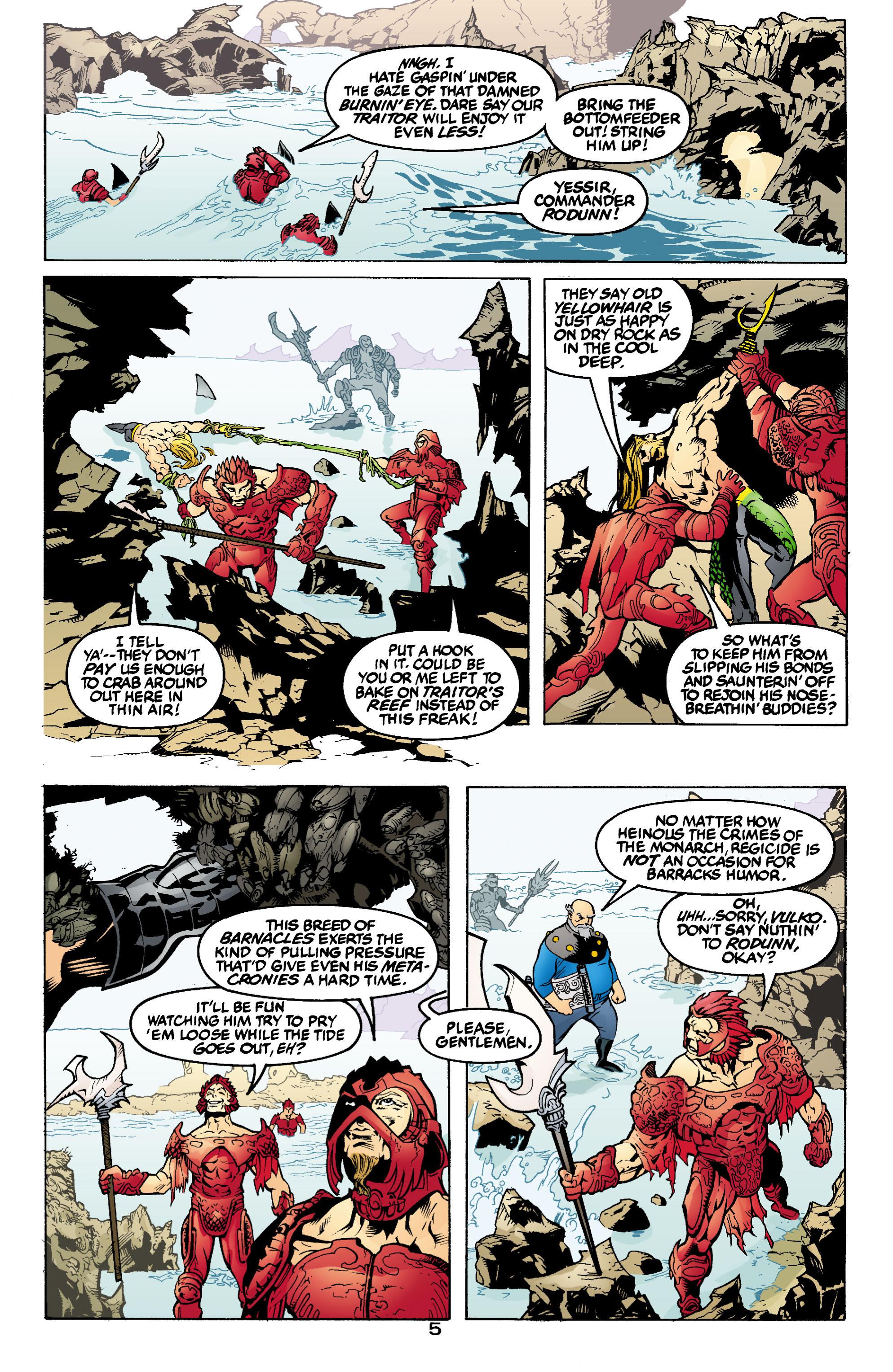 Read online Aquaman (2003) comic -  Issue #1 - 6