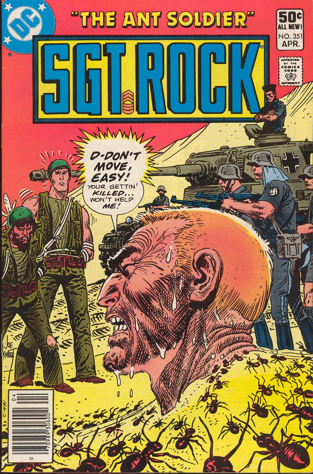 Sgt. Rock issue 351 - Page 1