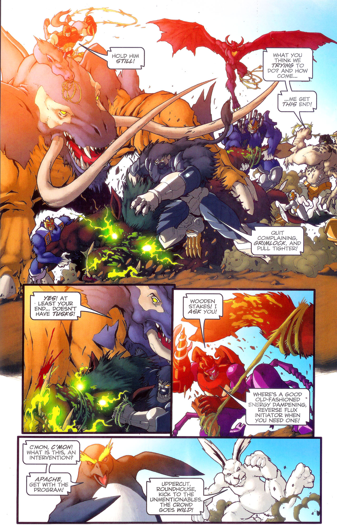 Read online Transformers: Beast Wars: The Ascending comic -  Issue #3 - 14