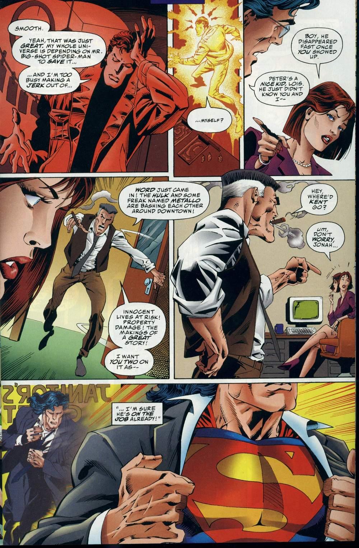 Read online DC Versus Marvel Comics comic -  Issue #3 - 16