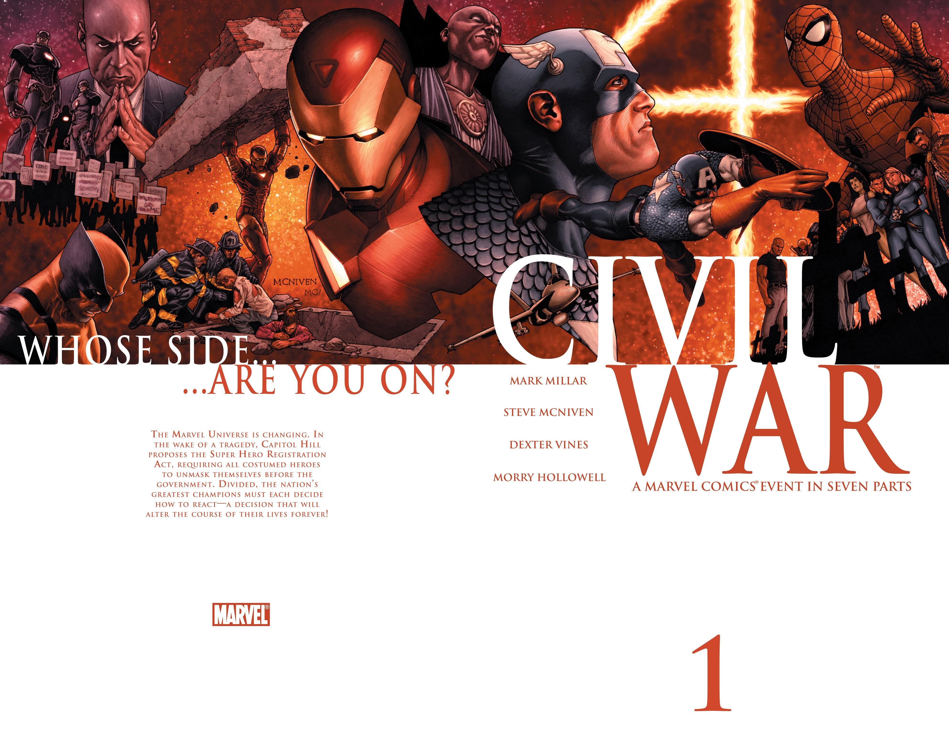Civil War (2006) 1 Page 2