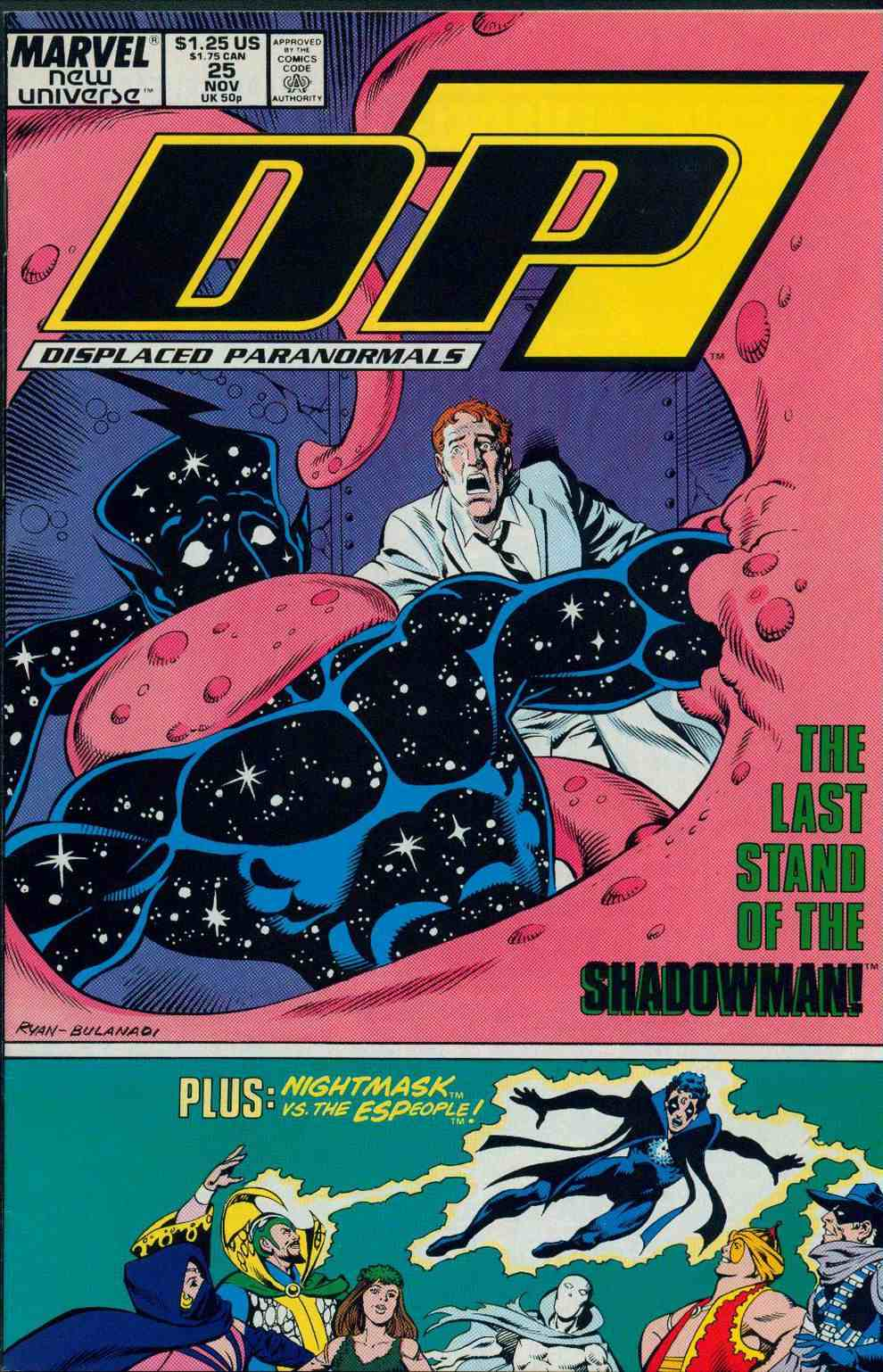 Read online DP7 comic -  Issue #25 - 1