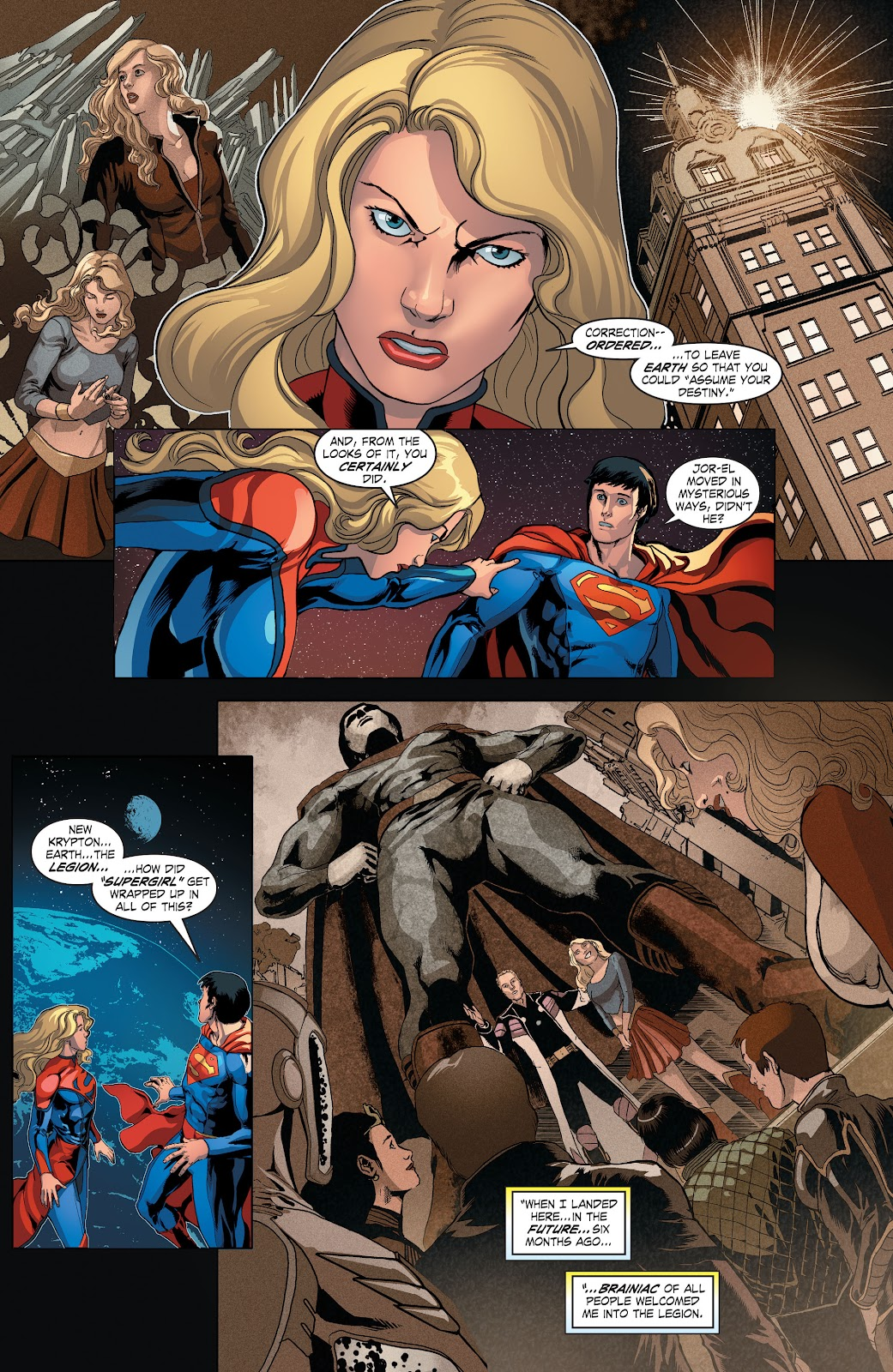 Read online Smallville Season 11 [II] comic -  Issue # TPB 4 - 40
