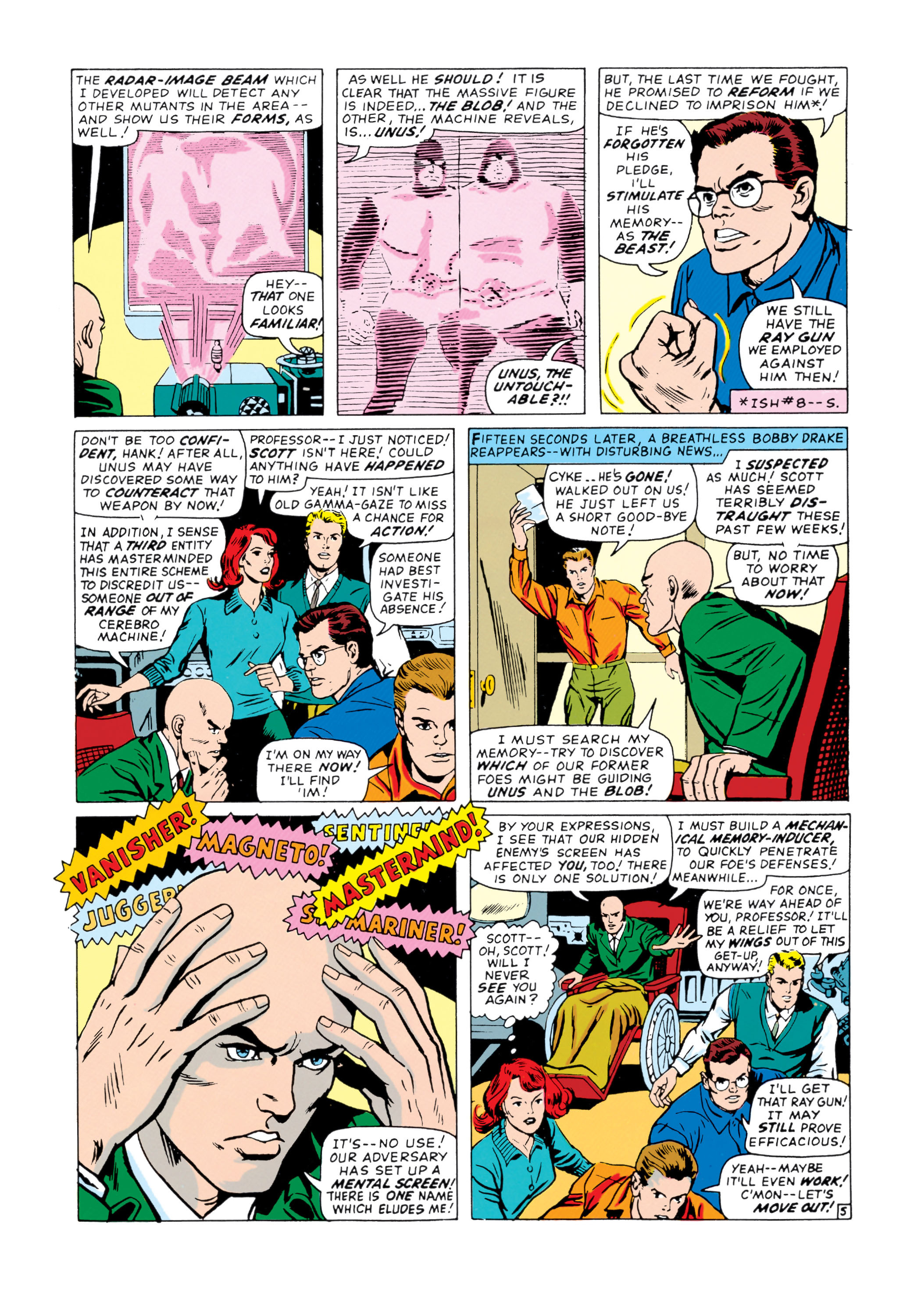 Read online Uncanny X-Men (1963) comic -  Issue #20 - 6