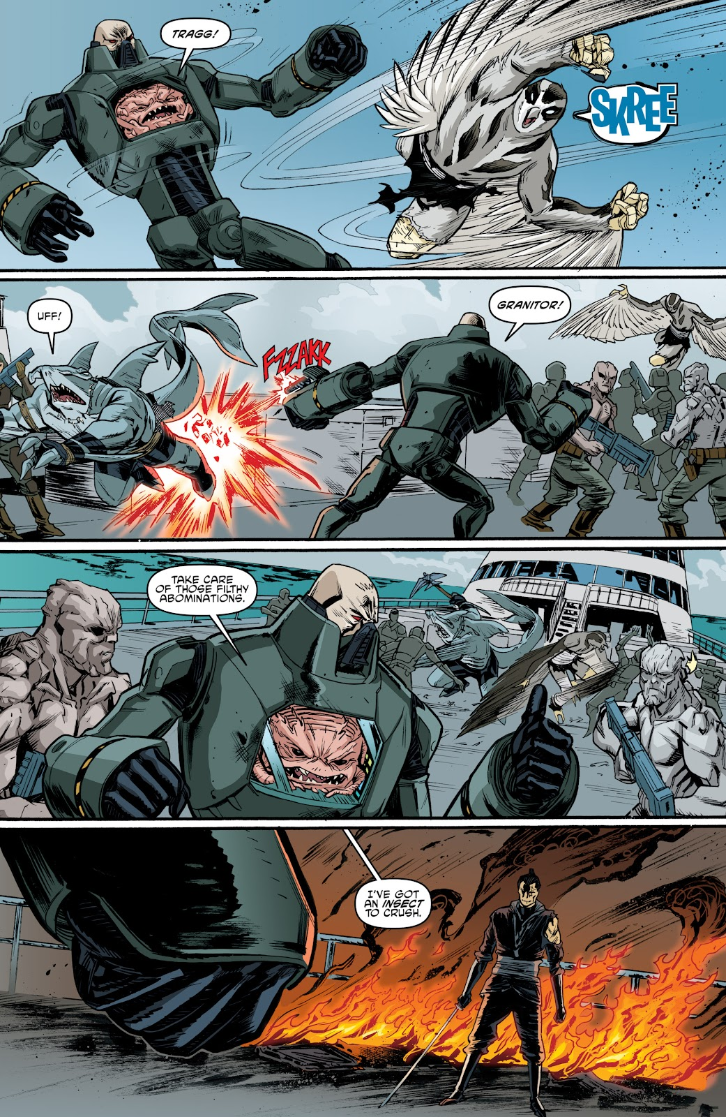 Read online Teenage Mutant Ninja Turtles: The IDW Collection comic -  Issue # TPB 4 (Part 3) - 112